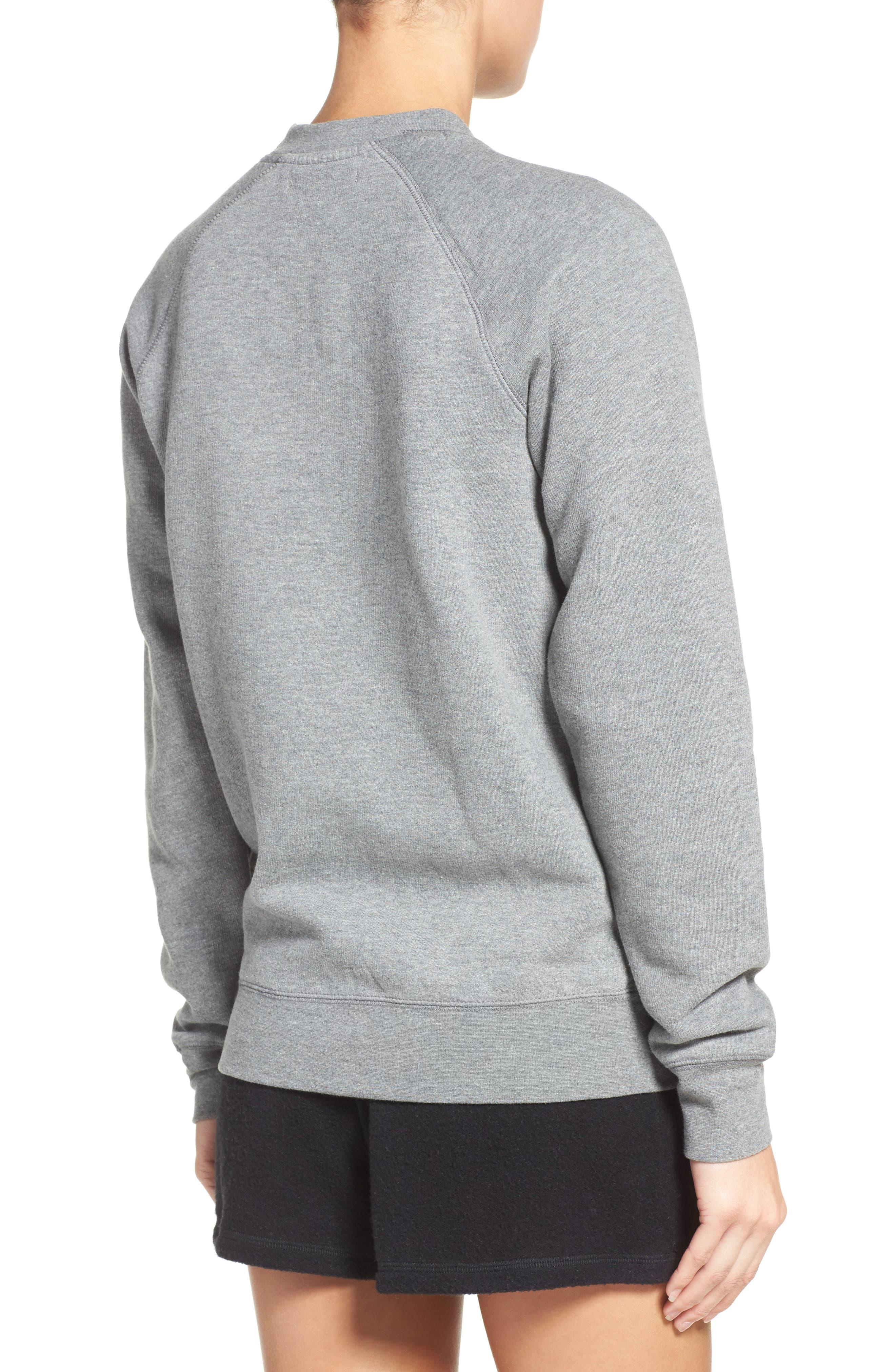 Alternate Image 2  - BRUNETTE the Label Brunette Crewneck Sweatshirt