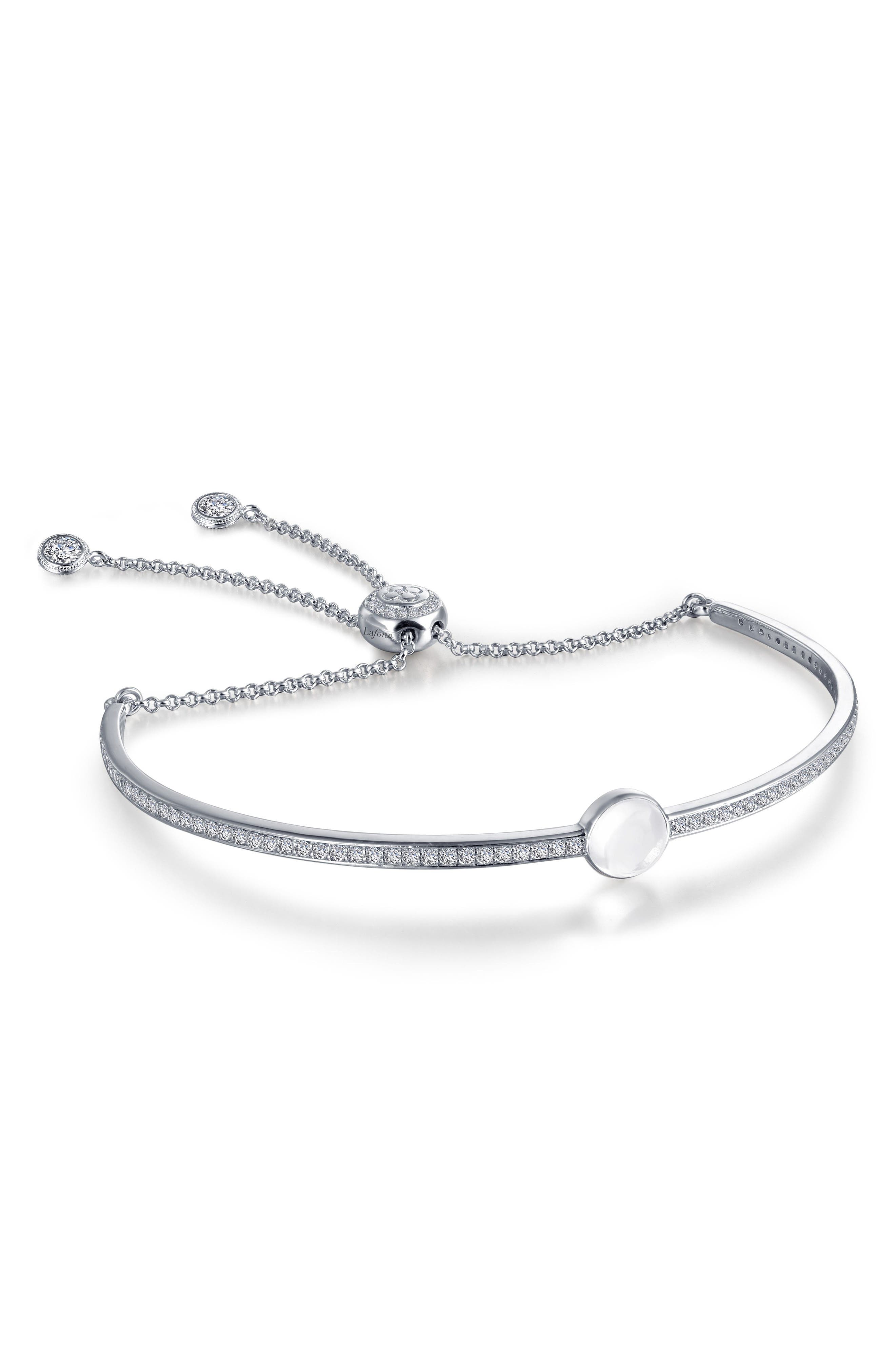 Alternate Image 1 Selected - Lafonn Jewel Simulated Diamond Birthstone Bracelet