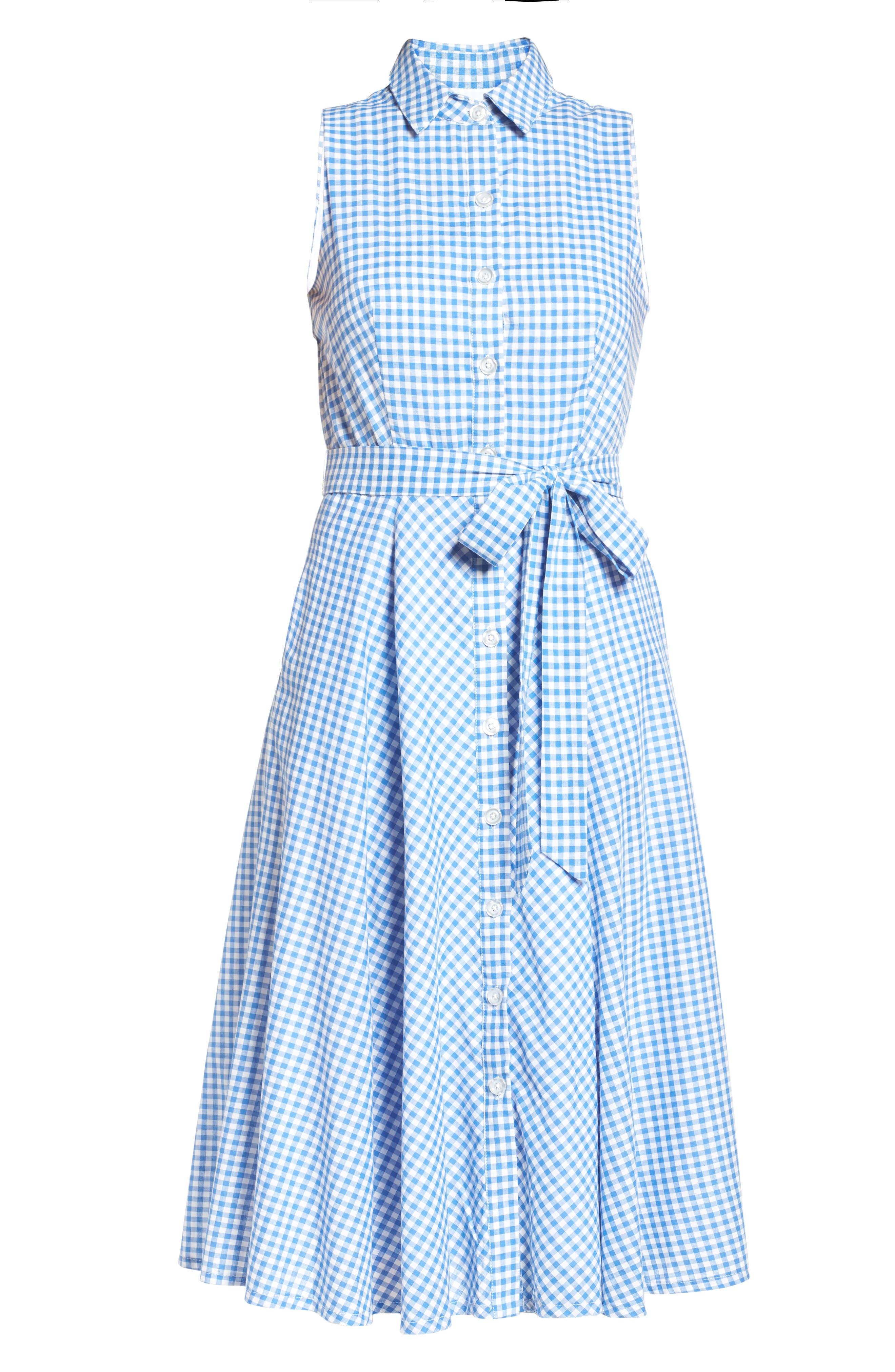 Alternate Image 5  - Chetta B Midi Shirtdress