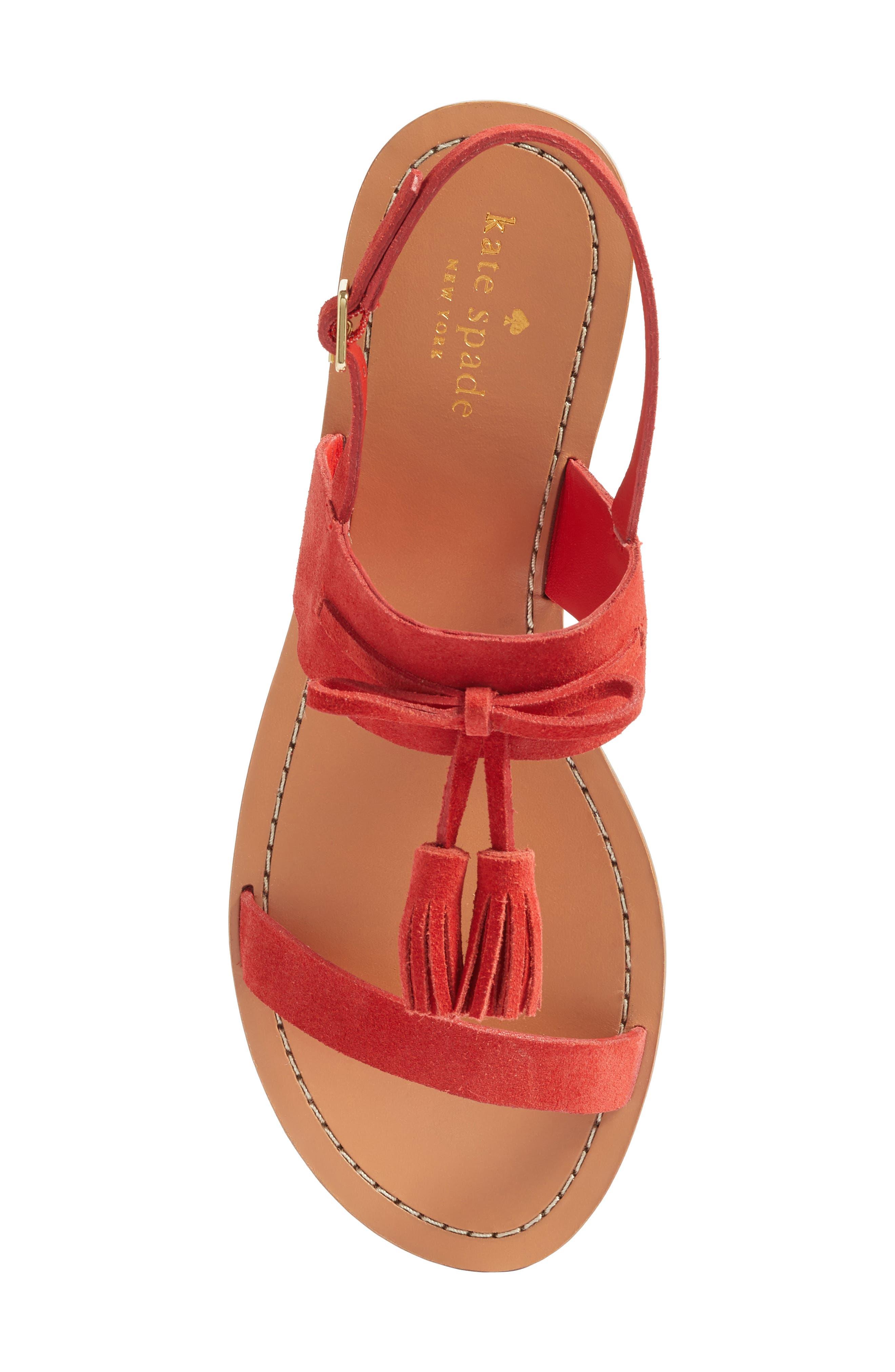 Alternate Image 5  - kate spade new york carlita tassel sandal (Women)