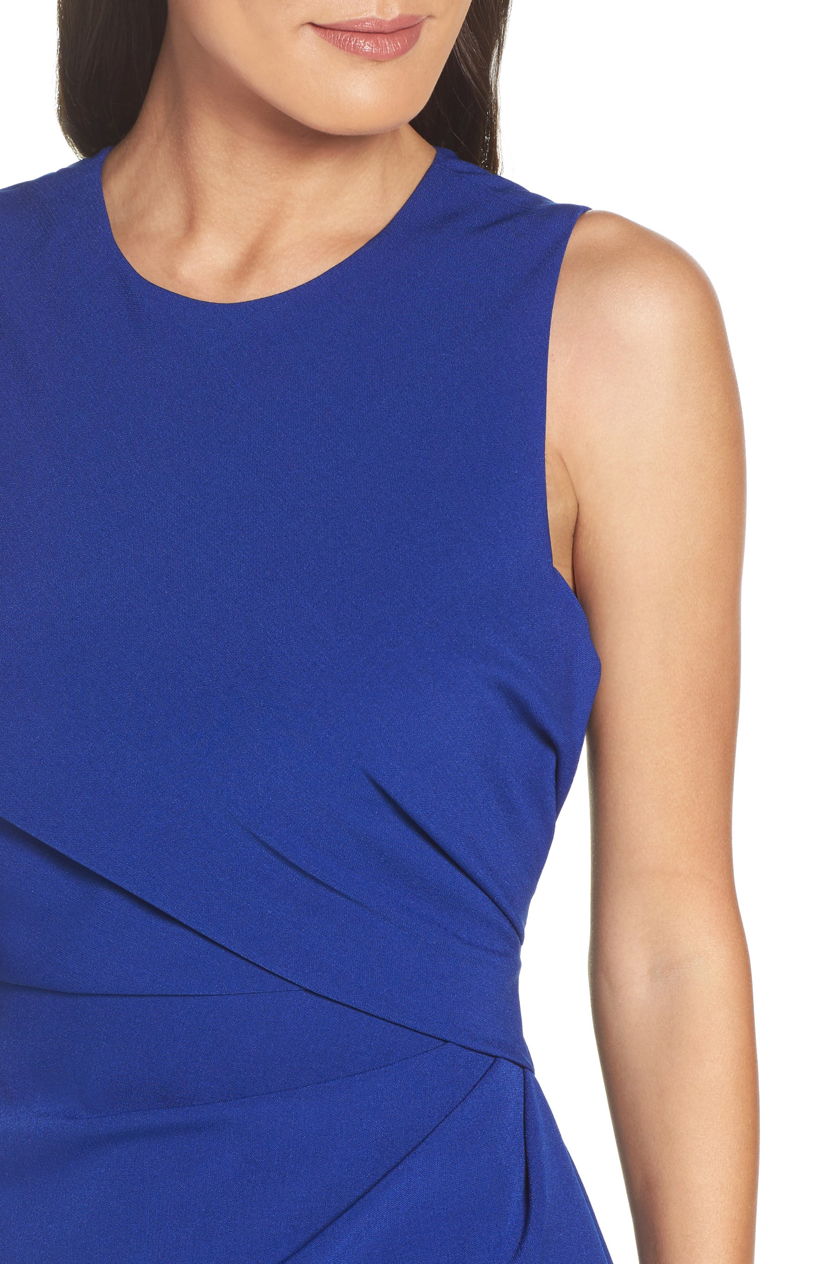 Alternate Image 5  - Adrianna Papell Crepe Sheath Dress