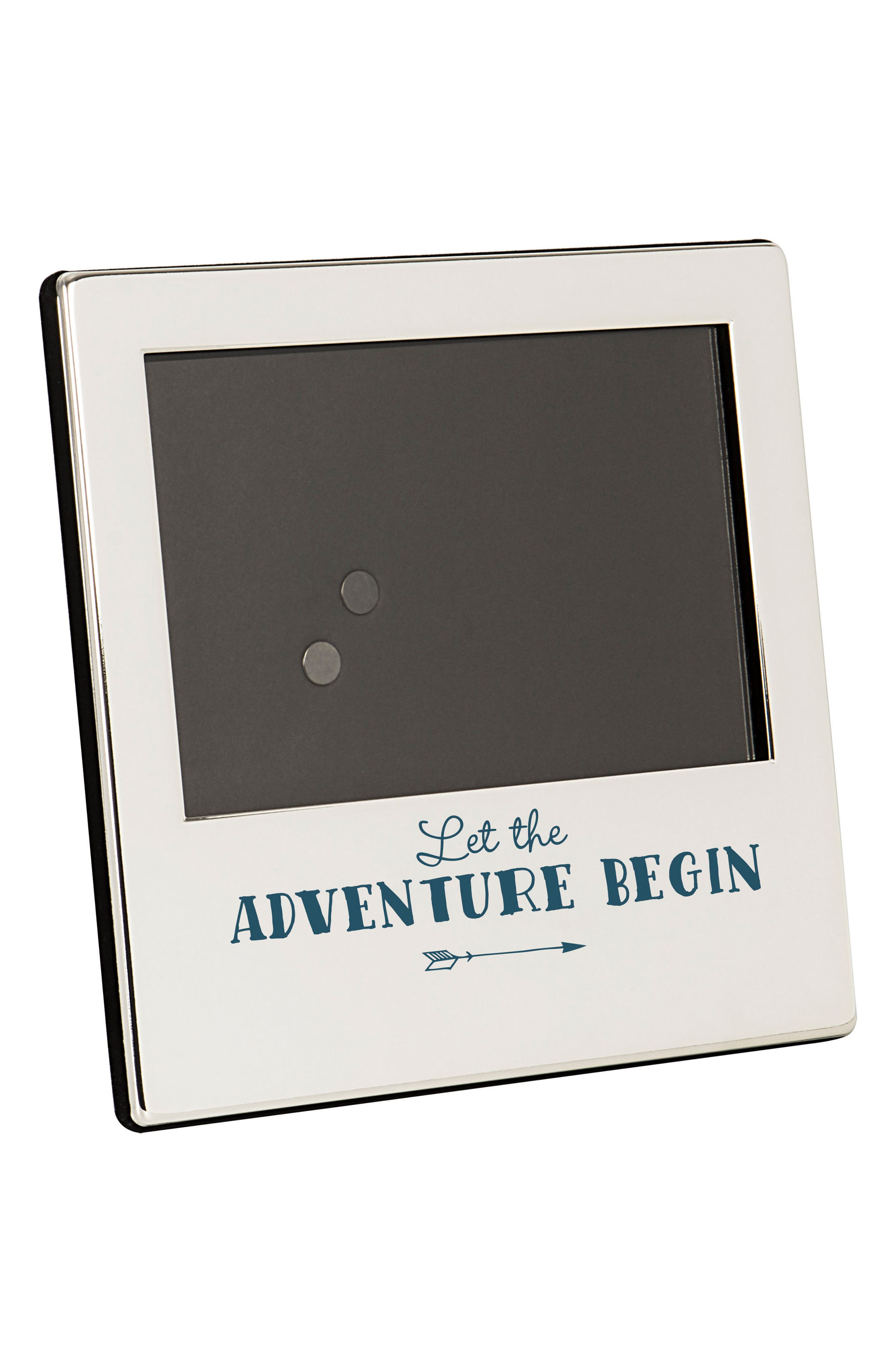 Graduation Silver Picture Frame,                             Alternate thumbnail 2, color,                             Metallic Silver