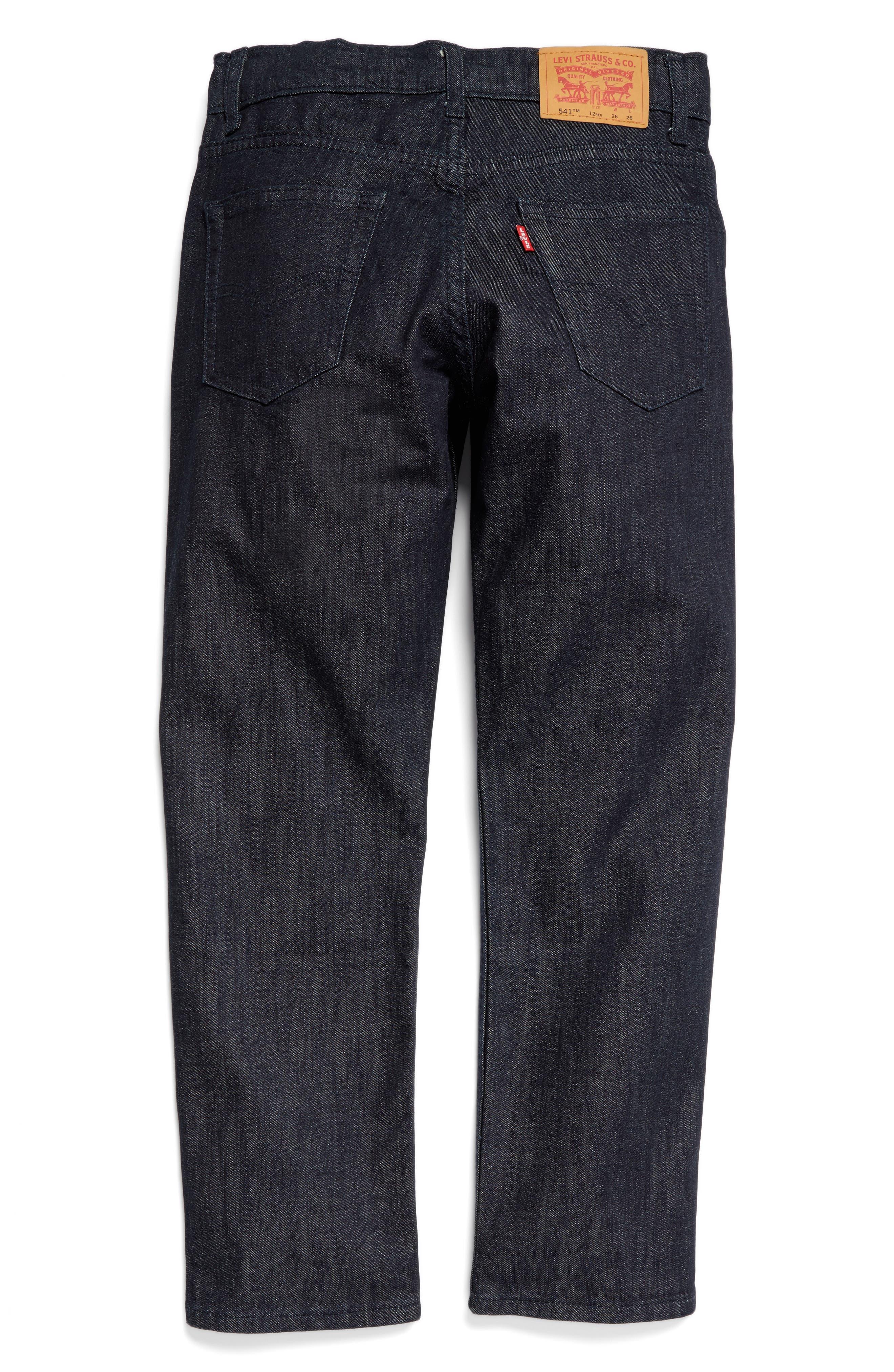 Alternate Image 2  - Levi's® 541™ Athletic Fit Jeans (Big Boys)