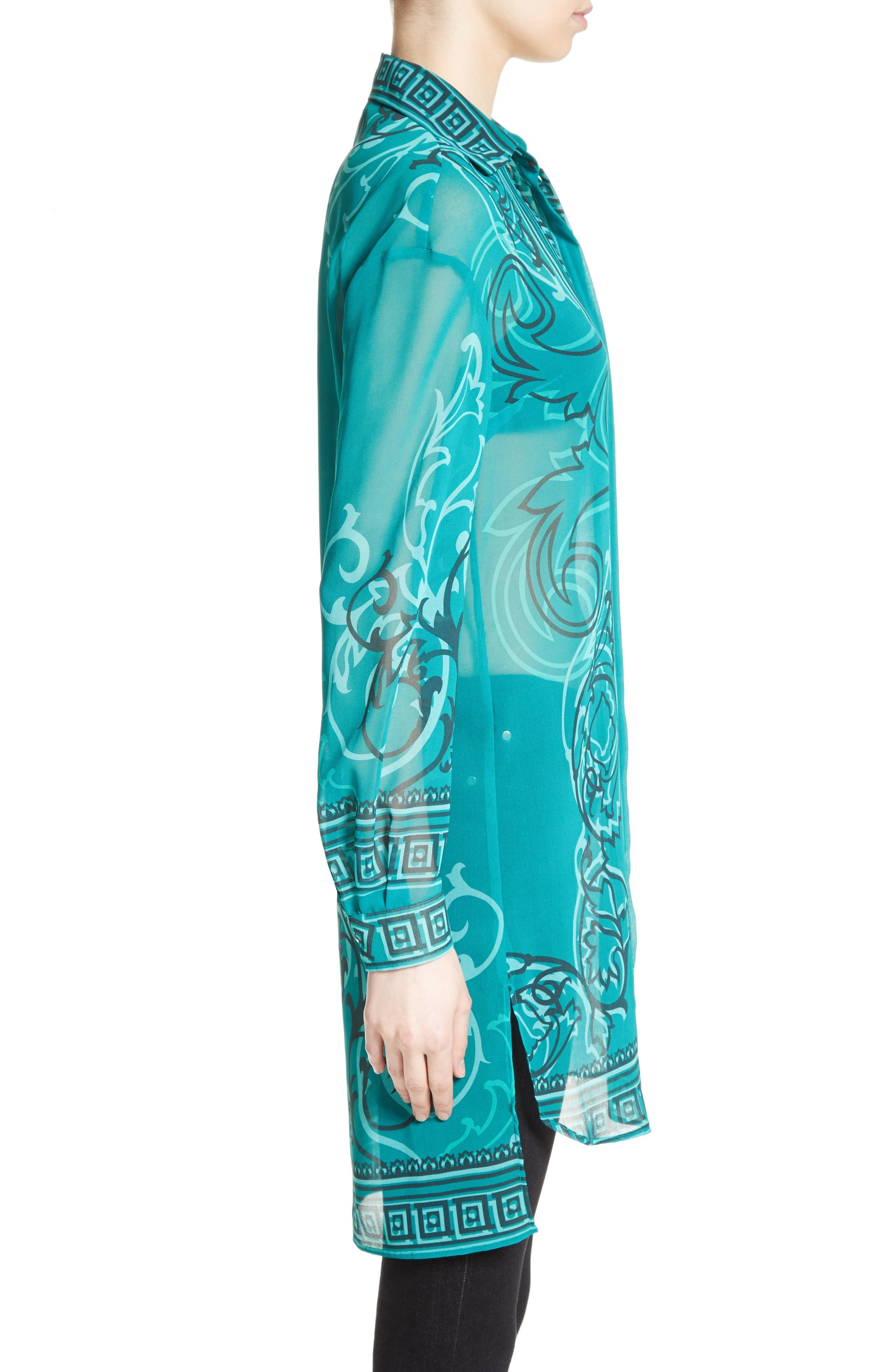 Alternate Image 5  - Versace Collection Baroque Print Tunic