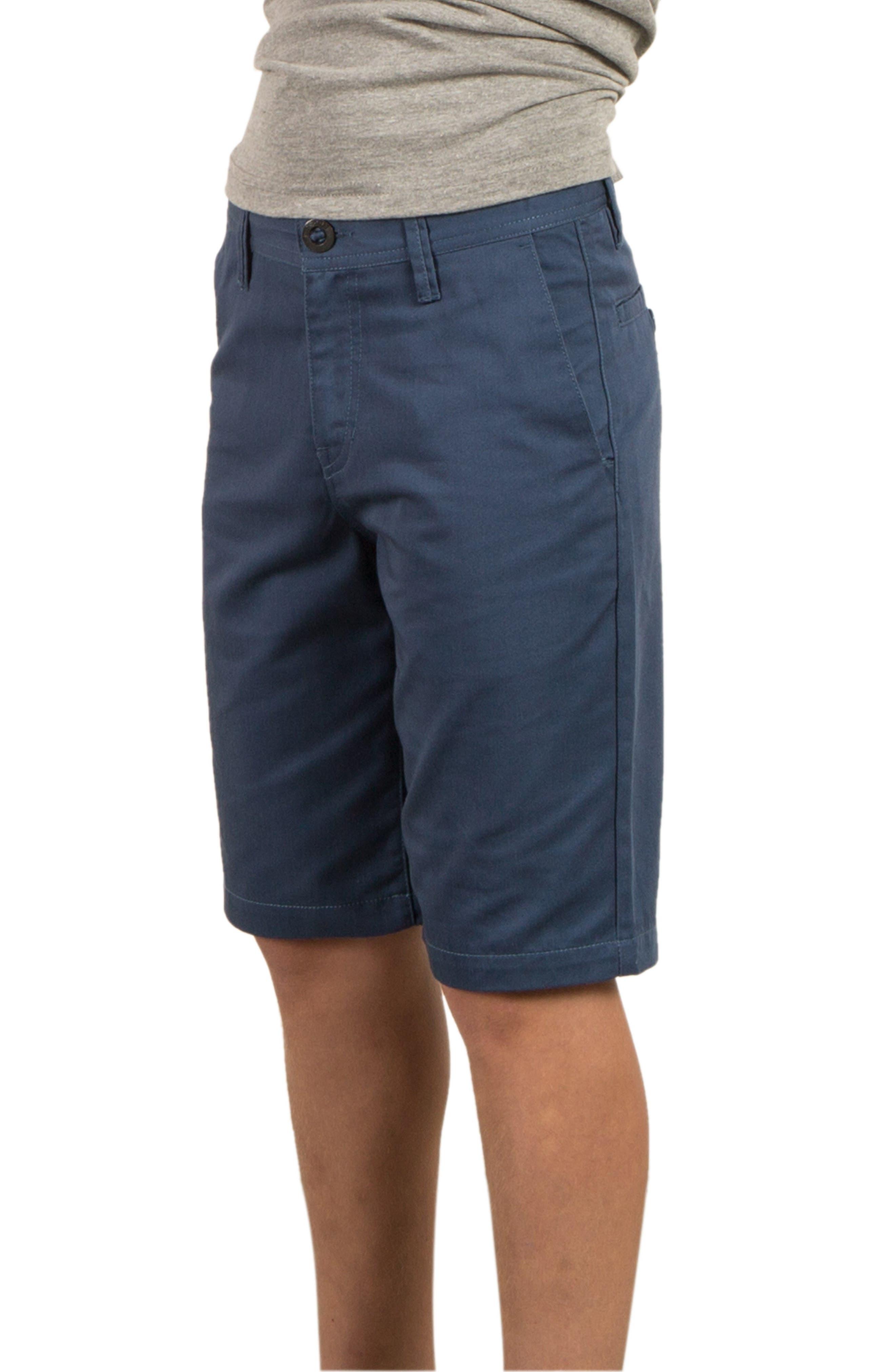 Chino Shorts,                             Main thumbnail 1, color,                             Blue Smoke