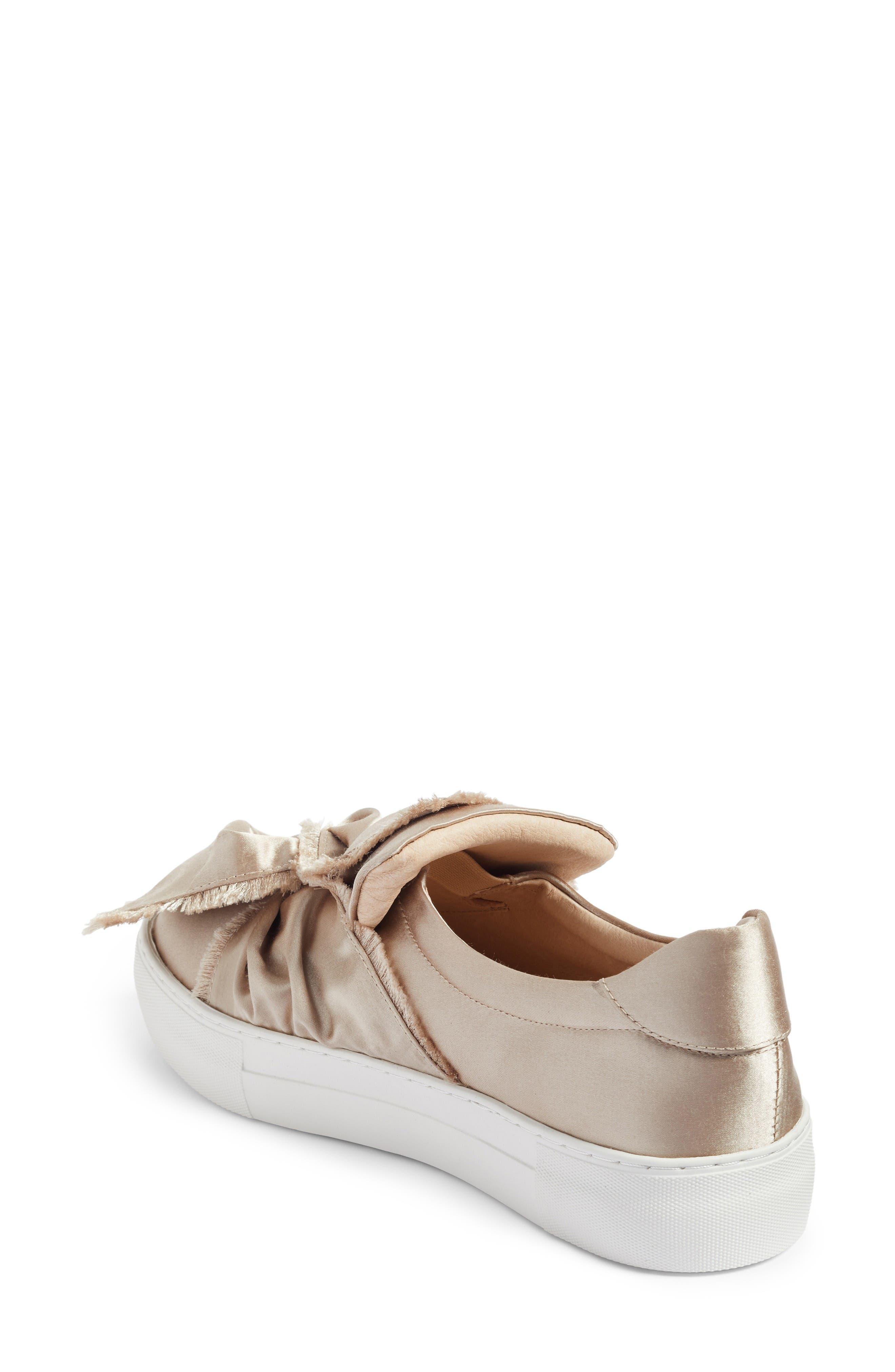 Alternate Image 2  - JSlides Azzura Bow Slip-On Sneaker