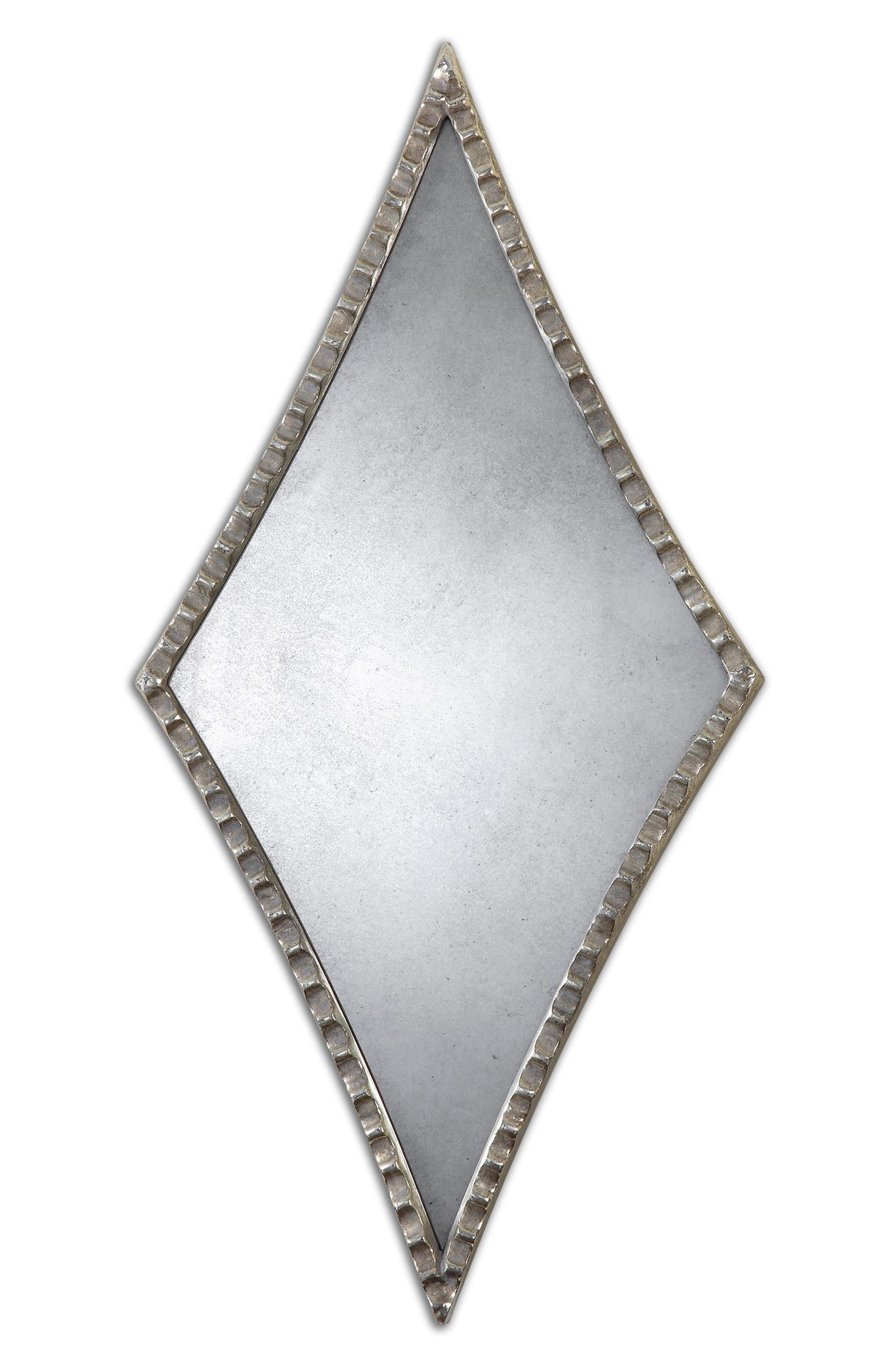 Uttermost Gelston Set of 2 Diamond Wall Mirrors