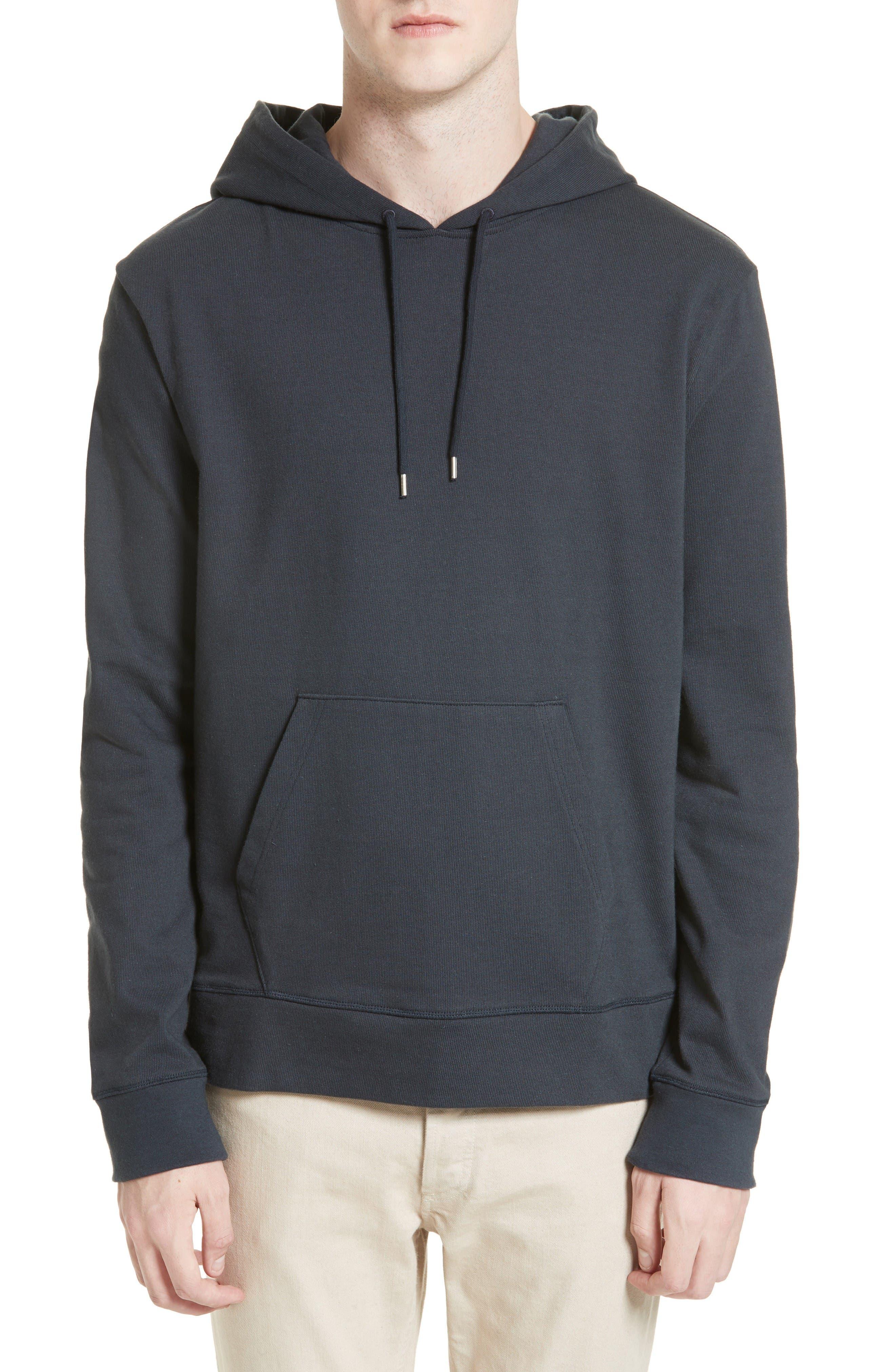 Brody Hooded Sweatshirt,                         Main,                         color, Grey