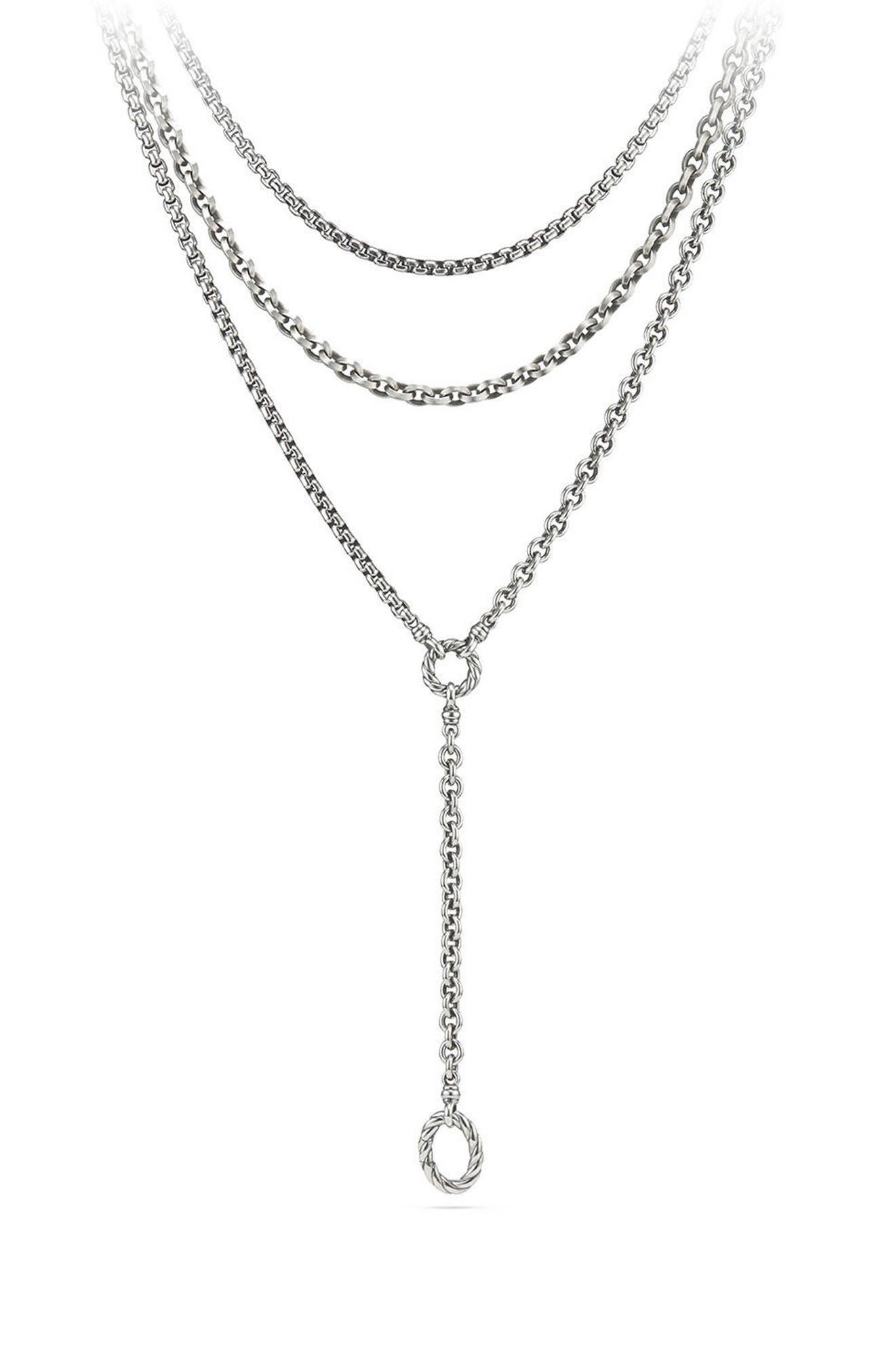 DAVID YURMAN Mixed Chain Y-Necklace