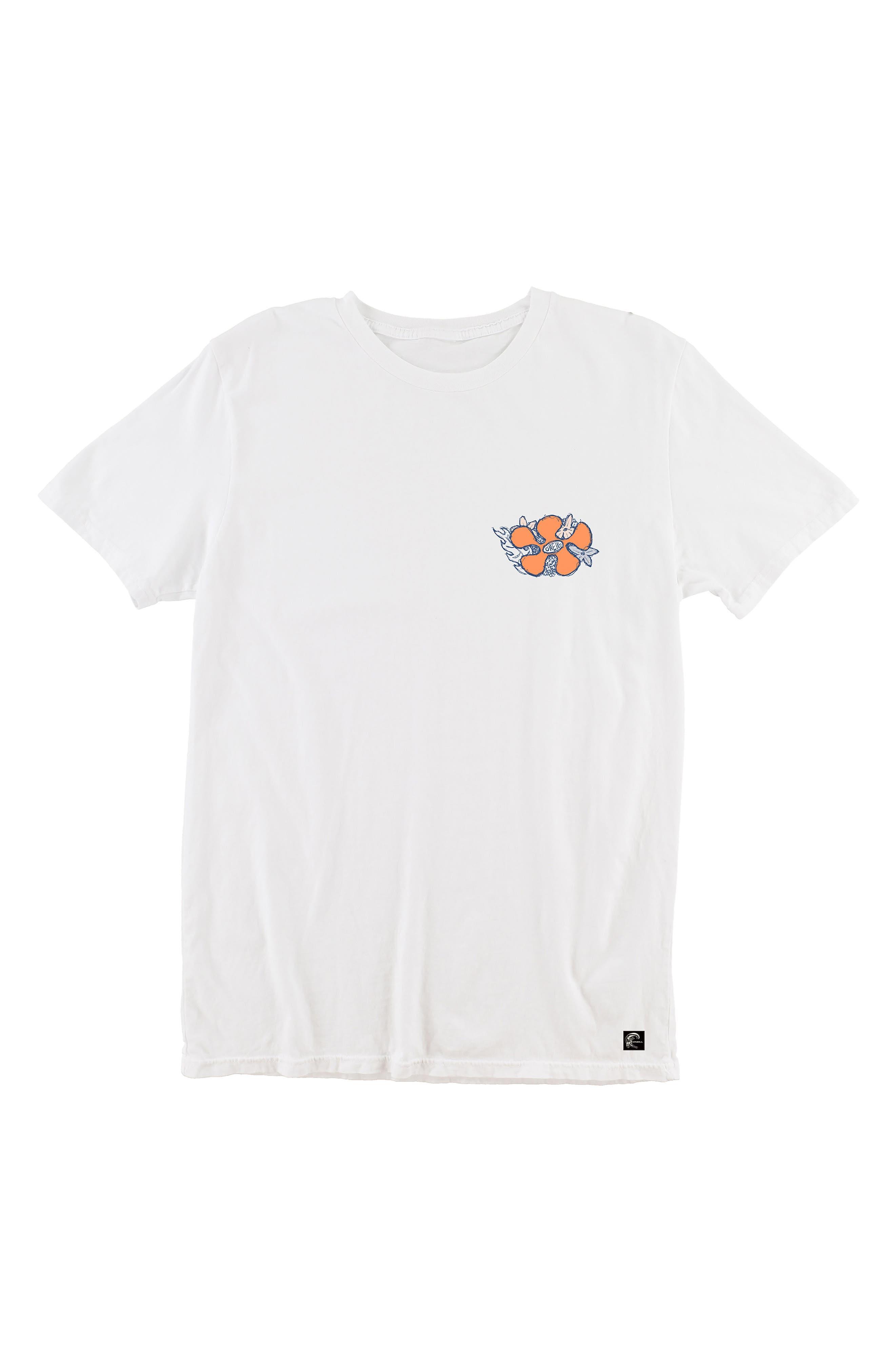 Simich T-Shirt,                             Main thumbnail 1, color,                             White