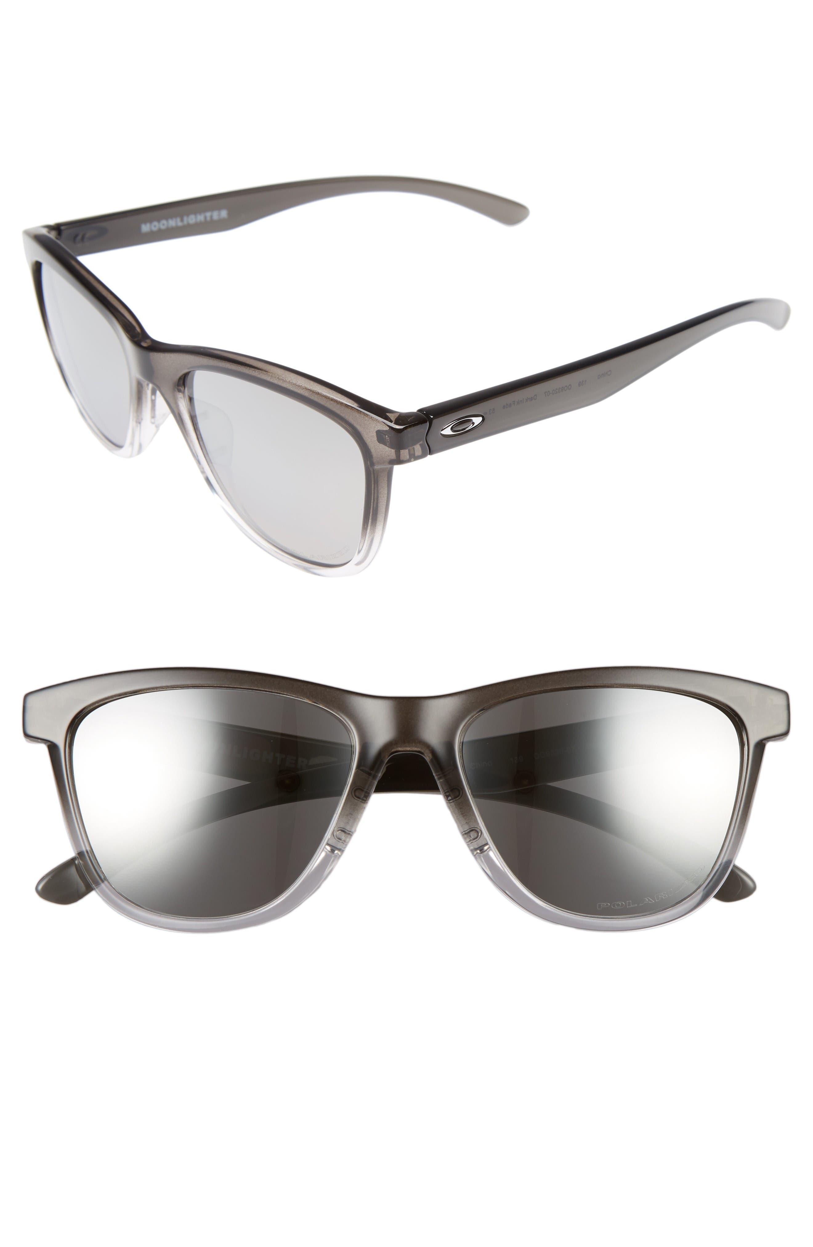Oakley Moonlighter 53mm Polarized Sunglasses