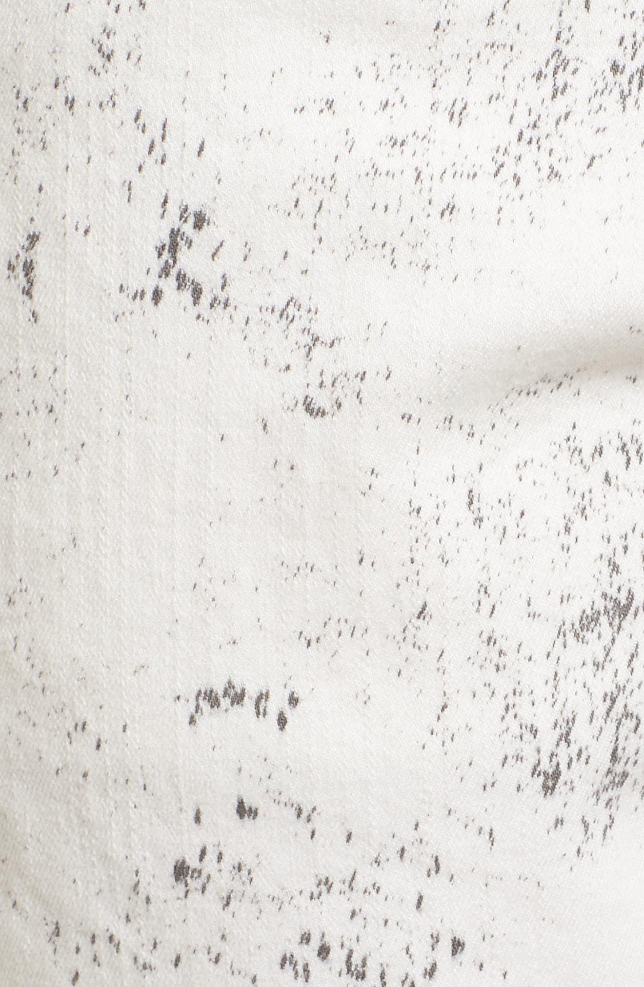 Alternate Image 5  - True Religion Racer Skinny Fit Jeans (Black Sand)