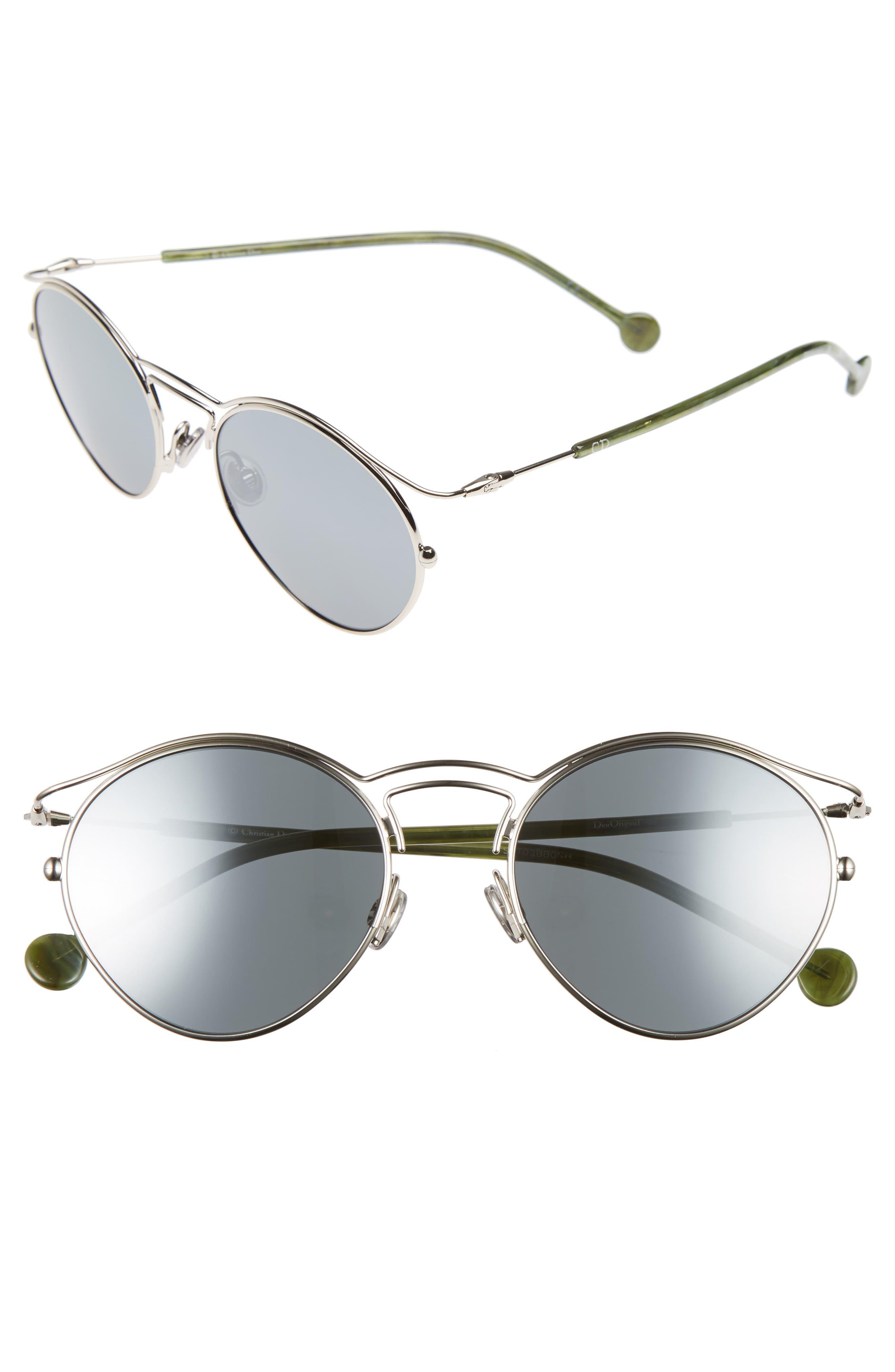 Main Image - Dior Origins 1 53mm Round Sunglasses