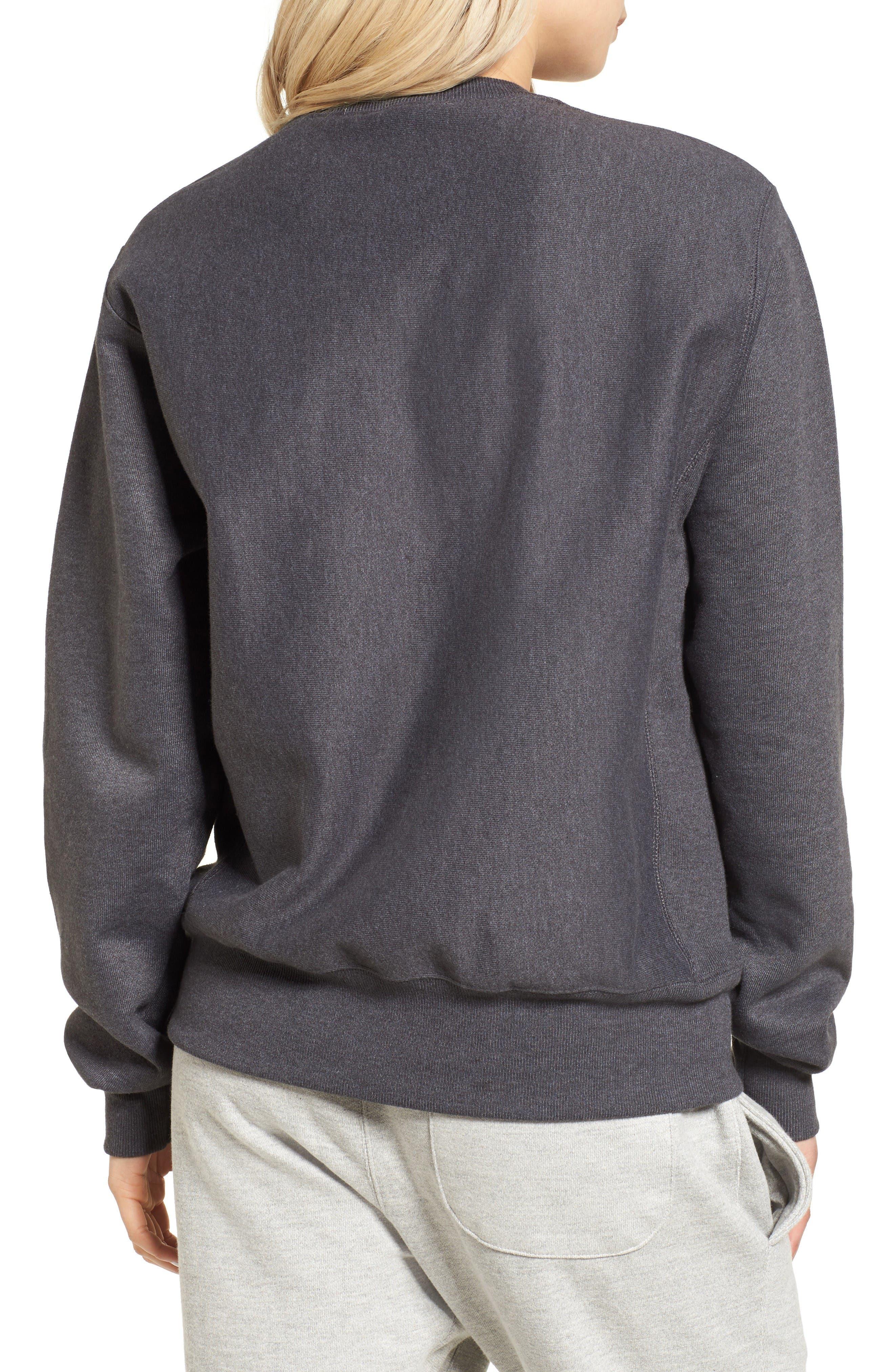 Alternate Image 2  - Champion Crewneck Sweatshirt