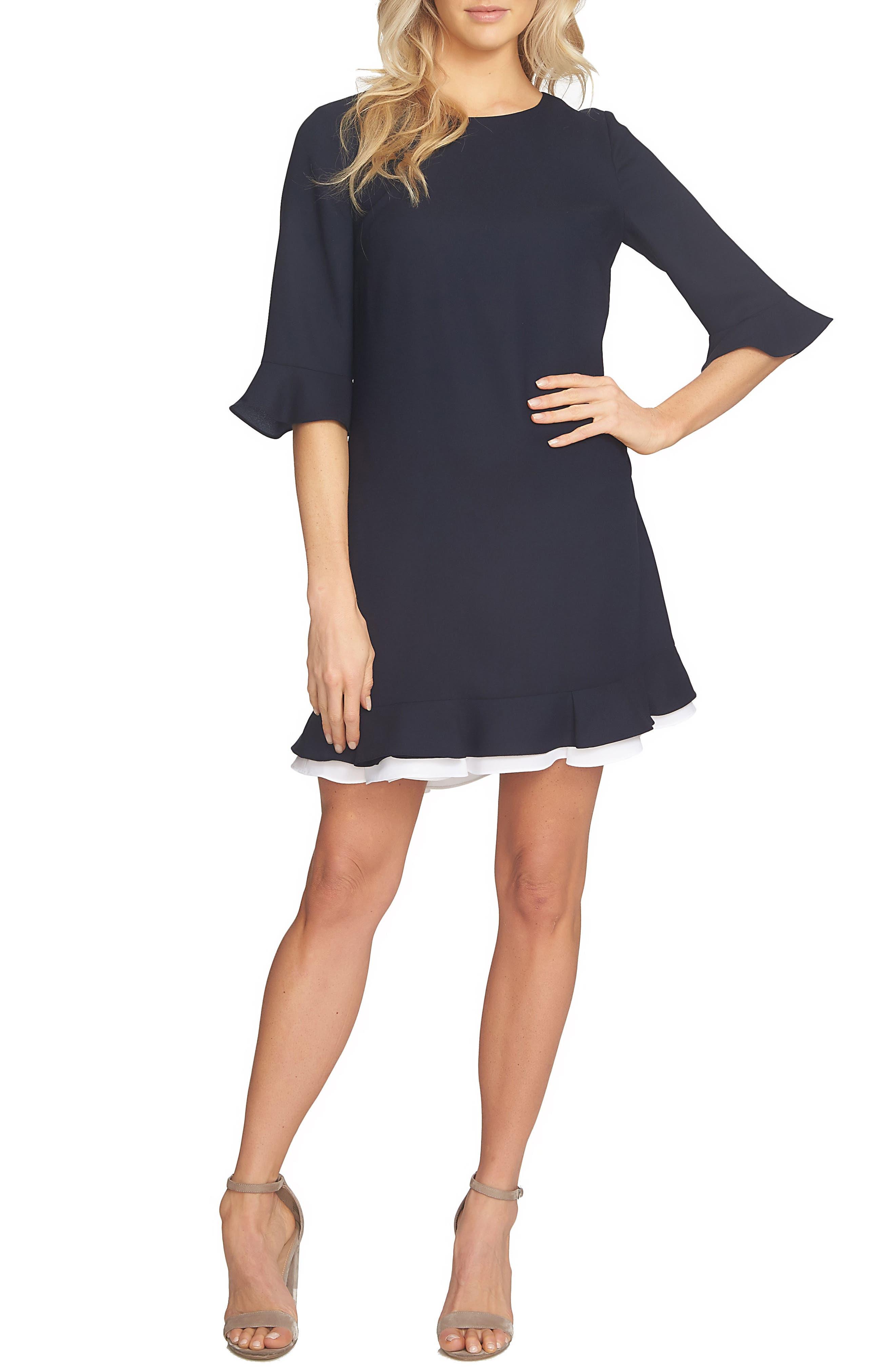 CECE Kate Ruffle Dress