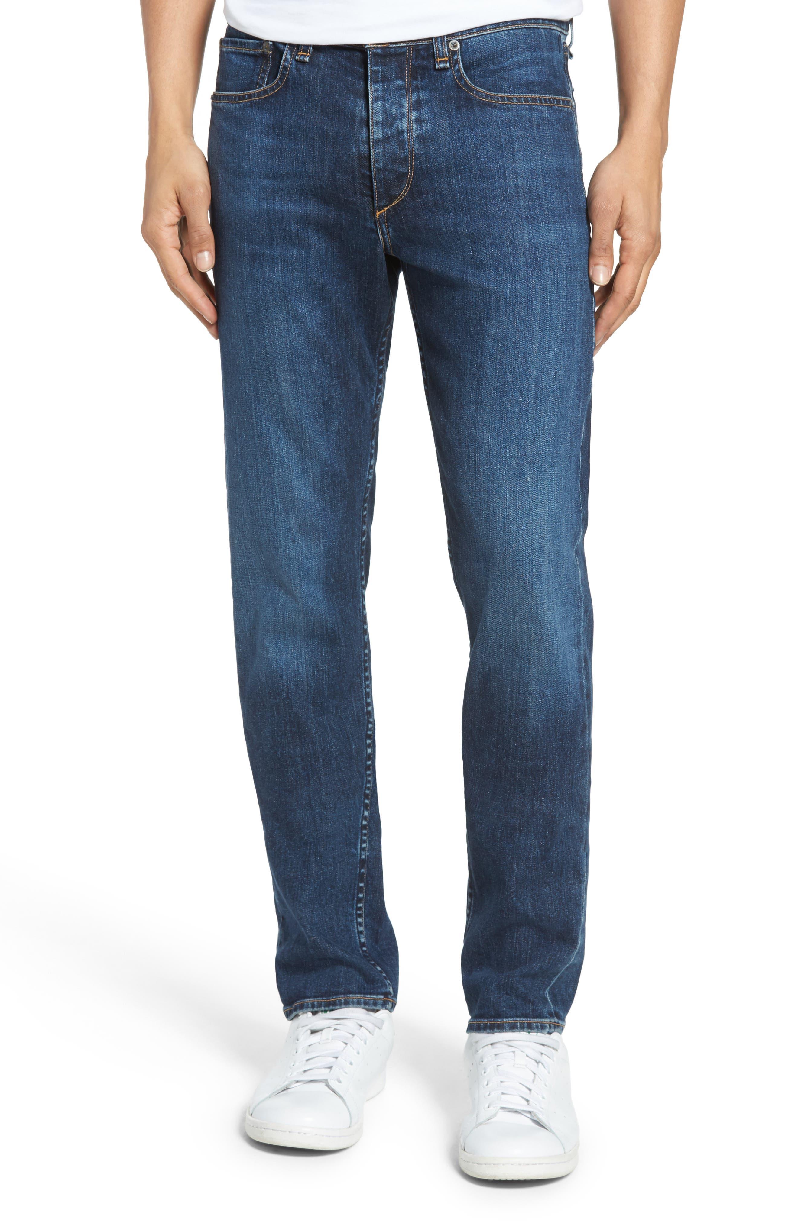 Fit 2 Slim Fit Jeans,                             Main thumbnail 1, color,                             Dukes