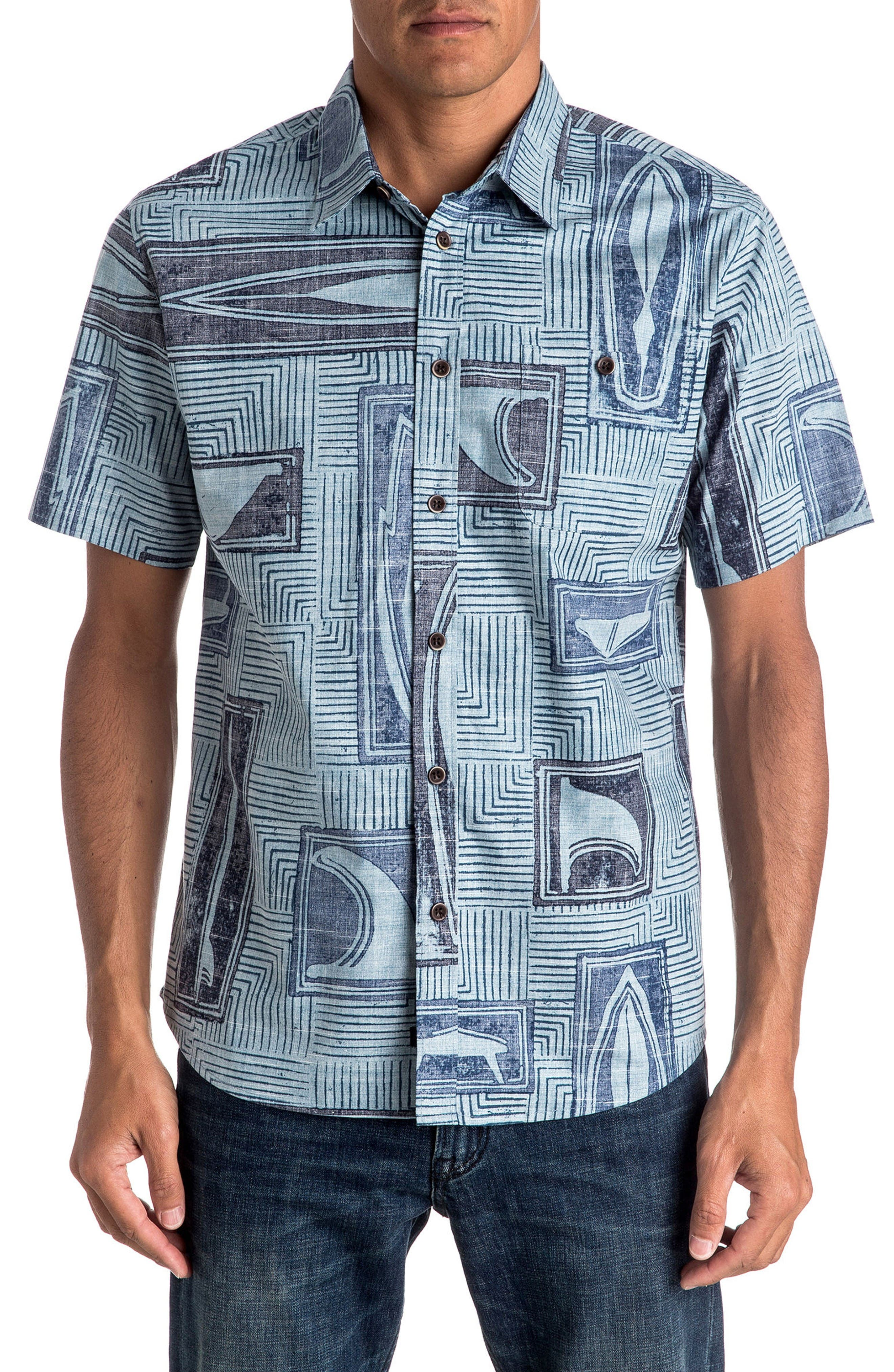 Quiksilver Shapers Choice Tailored Fit Sport Shirt
