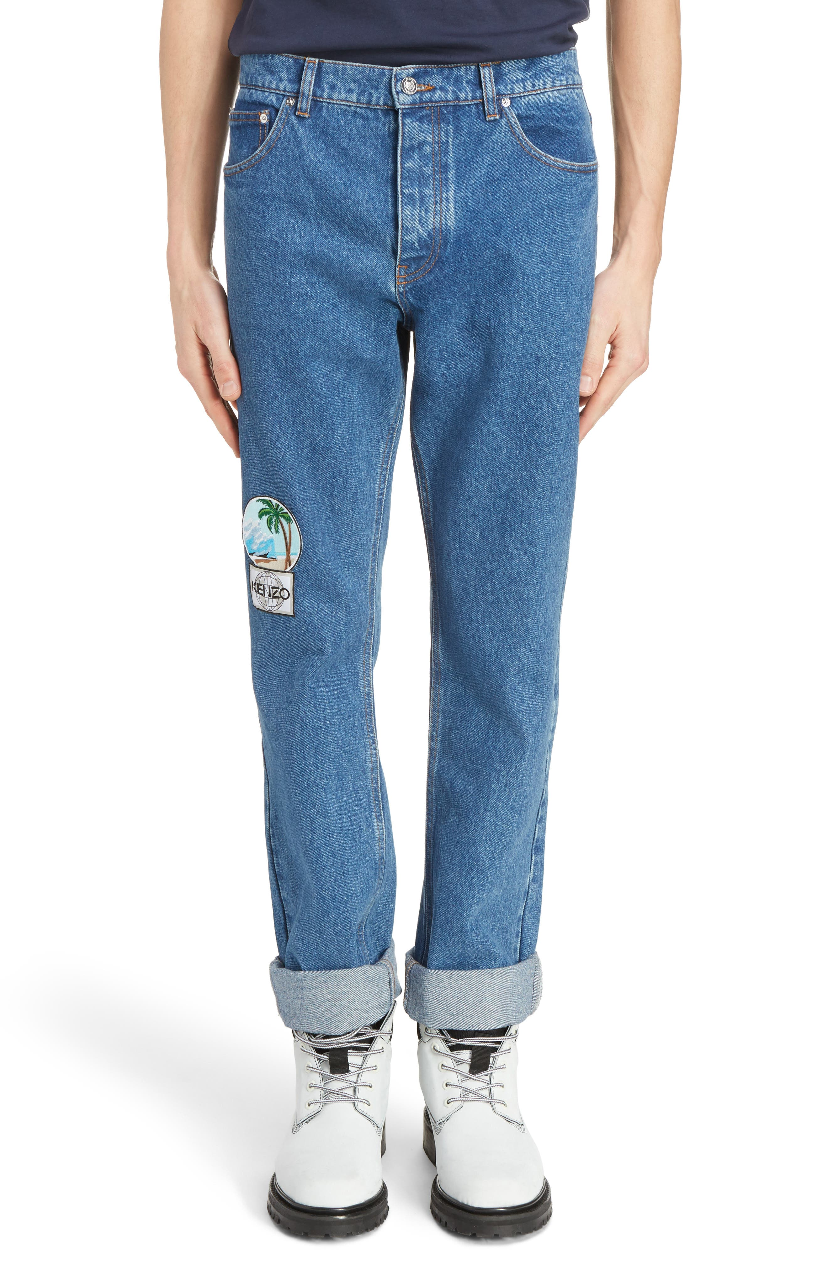 KENZO Patch Jeans