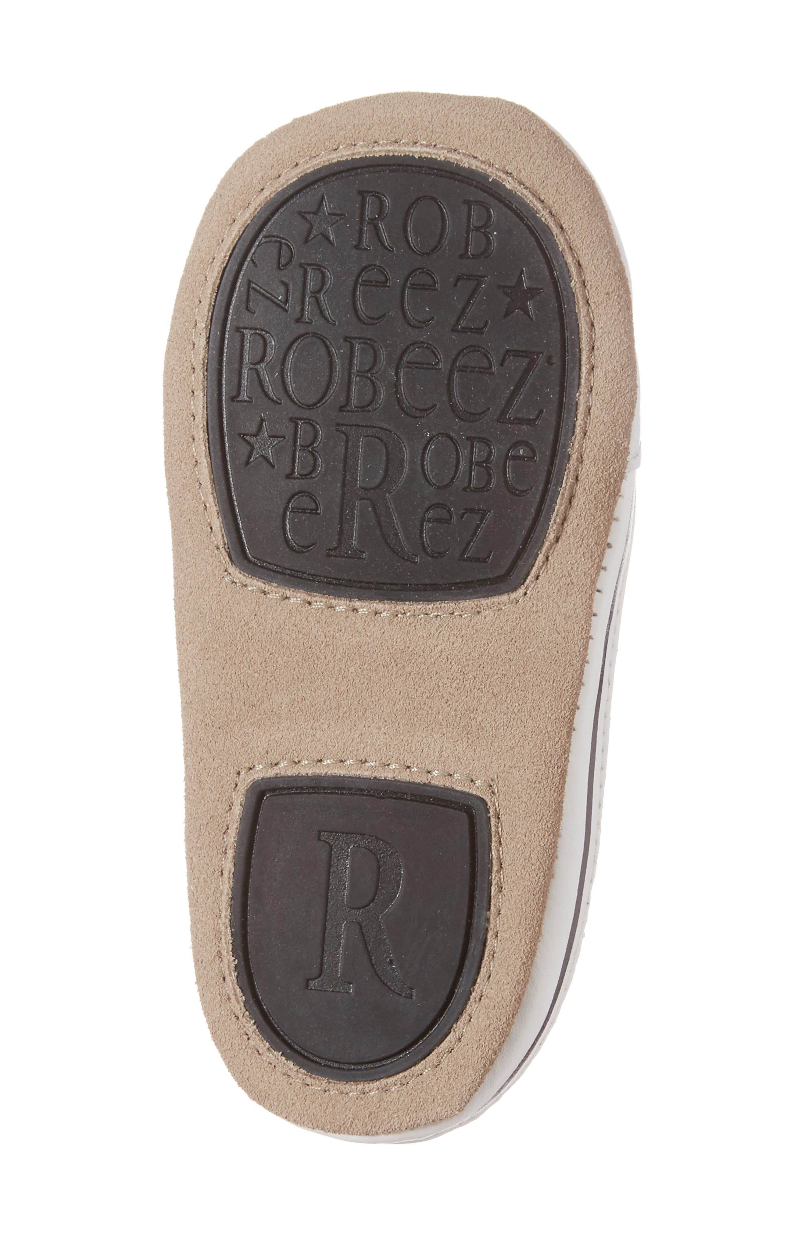 Alternate Image 6  - Robeez® Brandon Crib Shoe (Baby & Walker)