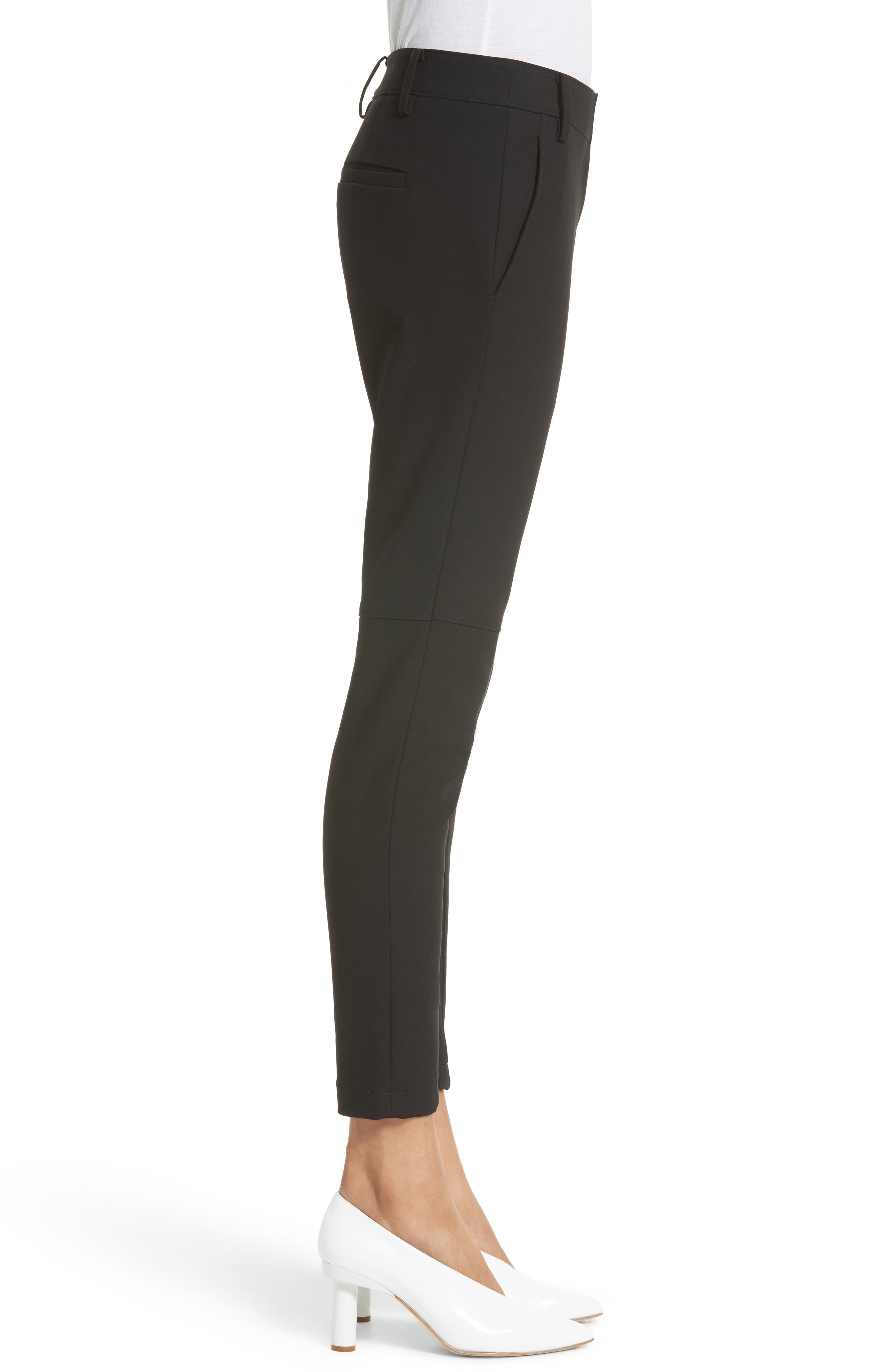 Alternate Image 4  - Tibi Anson Stretch Insert Ankle Pants