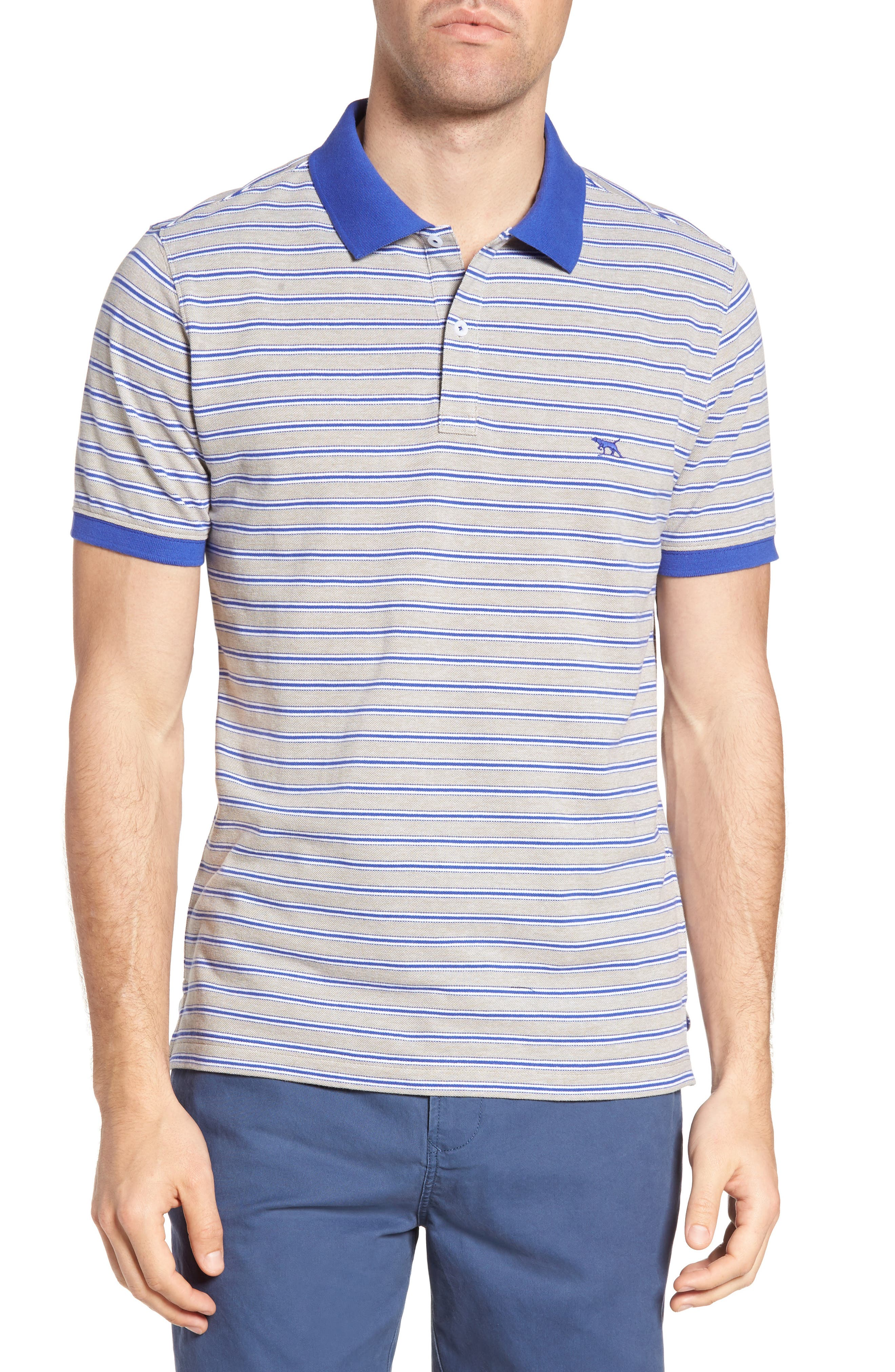 Rodd & Gunn Kempthorne Sports Fit Stripe Piqué Polo