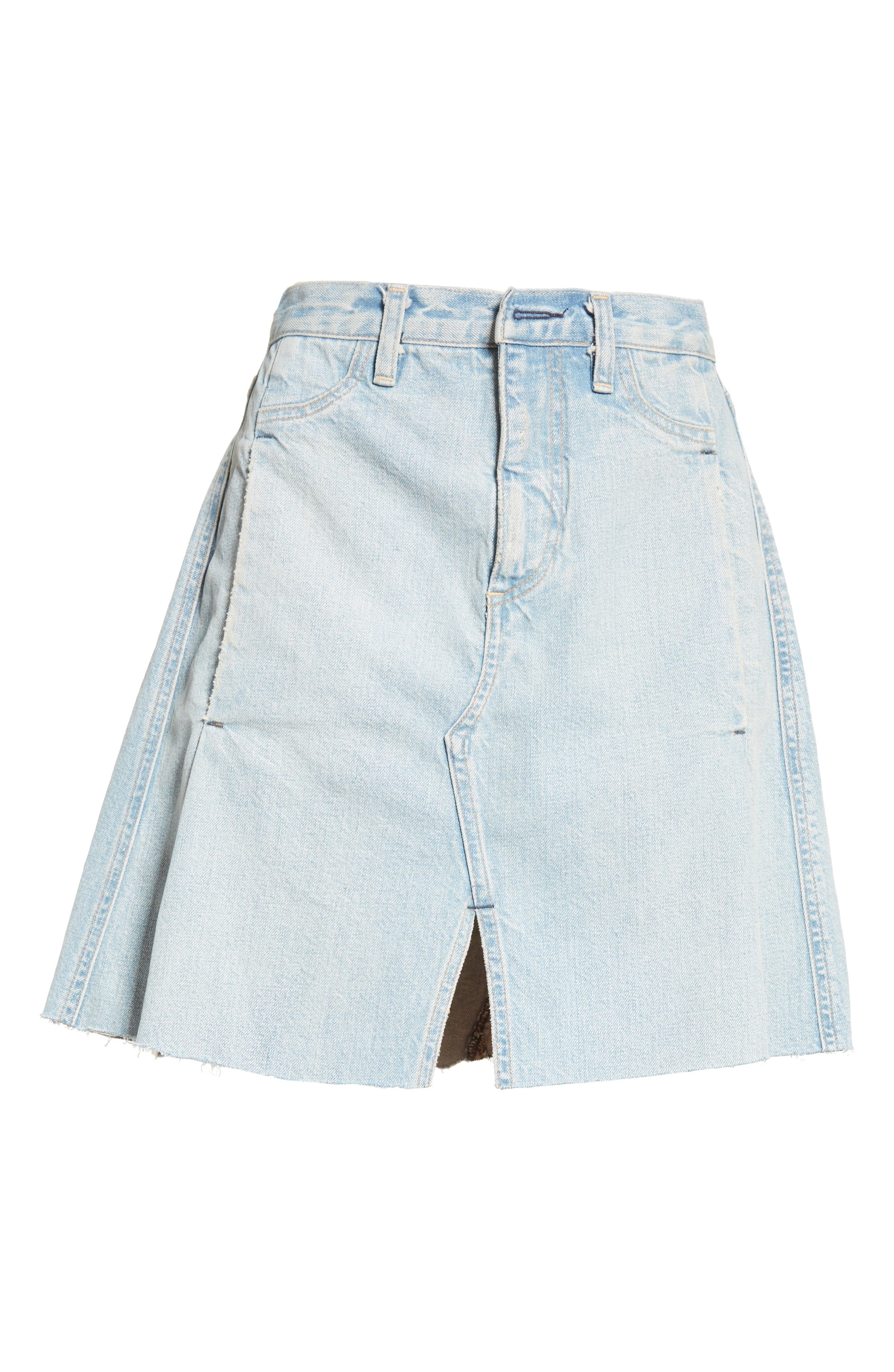 Alternate Image 4  - Simon Miller Denim Skirt (Nordstrom Exclusive)