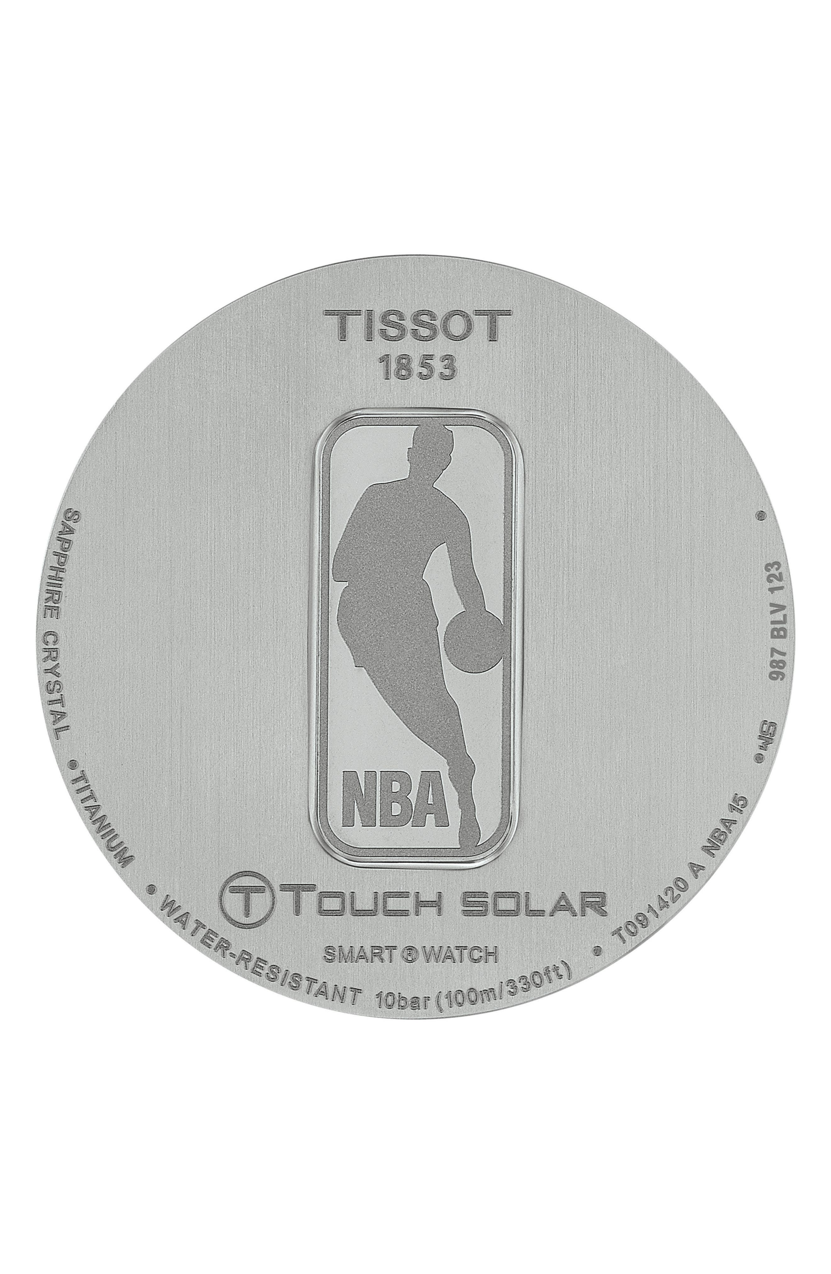 Alternate Image 3  - Tissot T-Touch Expert Solar Multifunction Smartwatch, 45mm