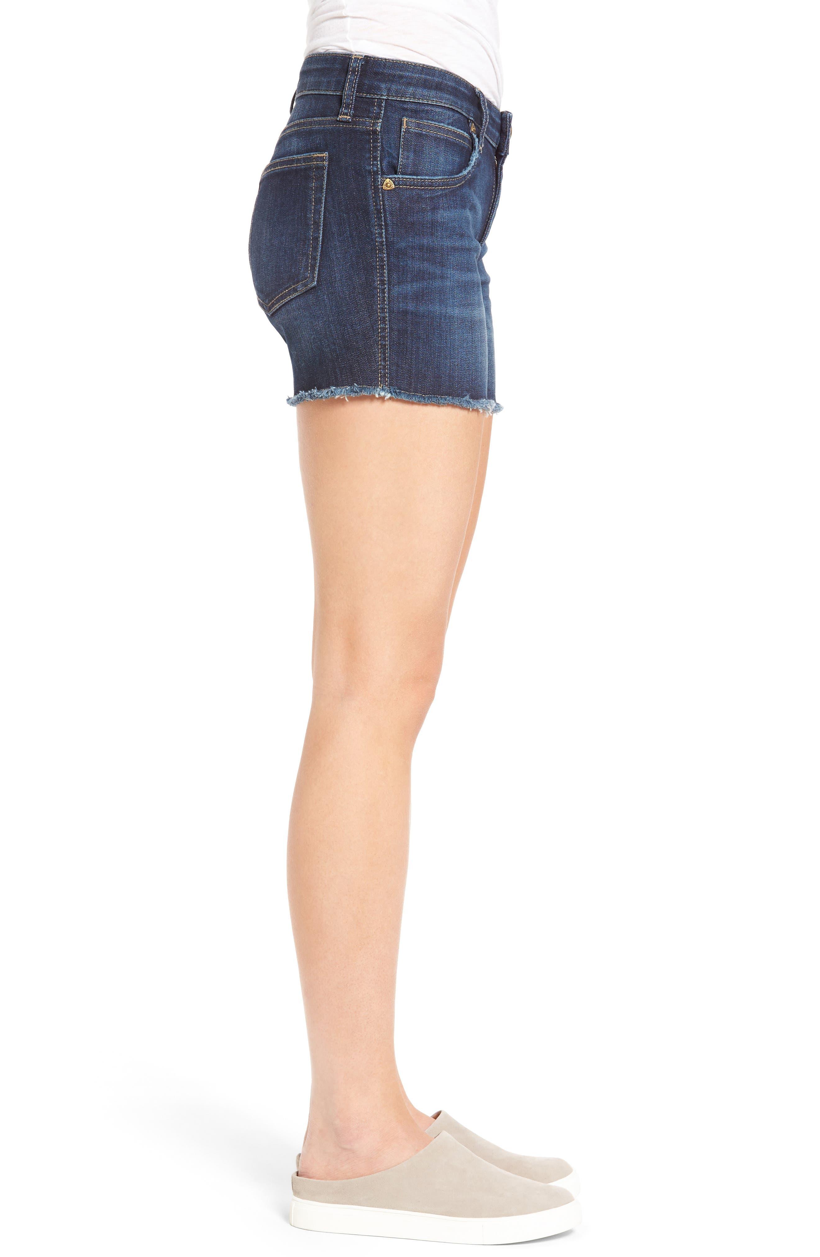 Alternate Image 4  - KUT from the Kloth Gidget Denim Cutoff Shorts
