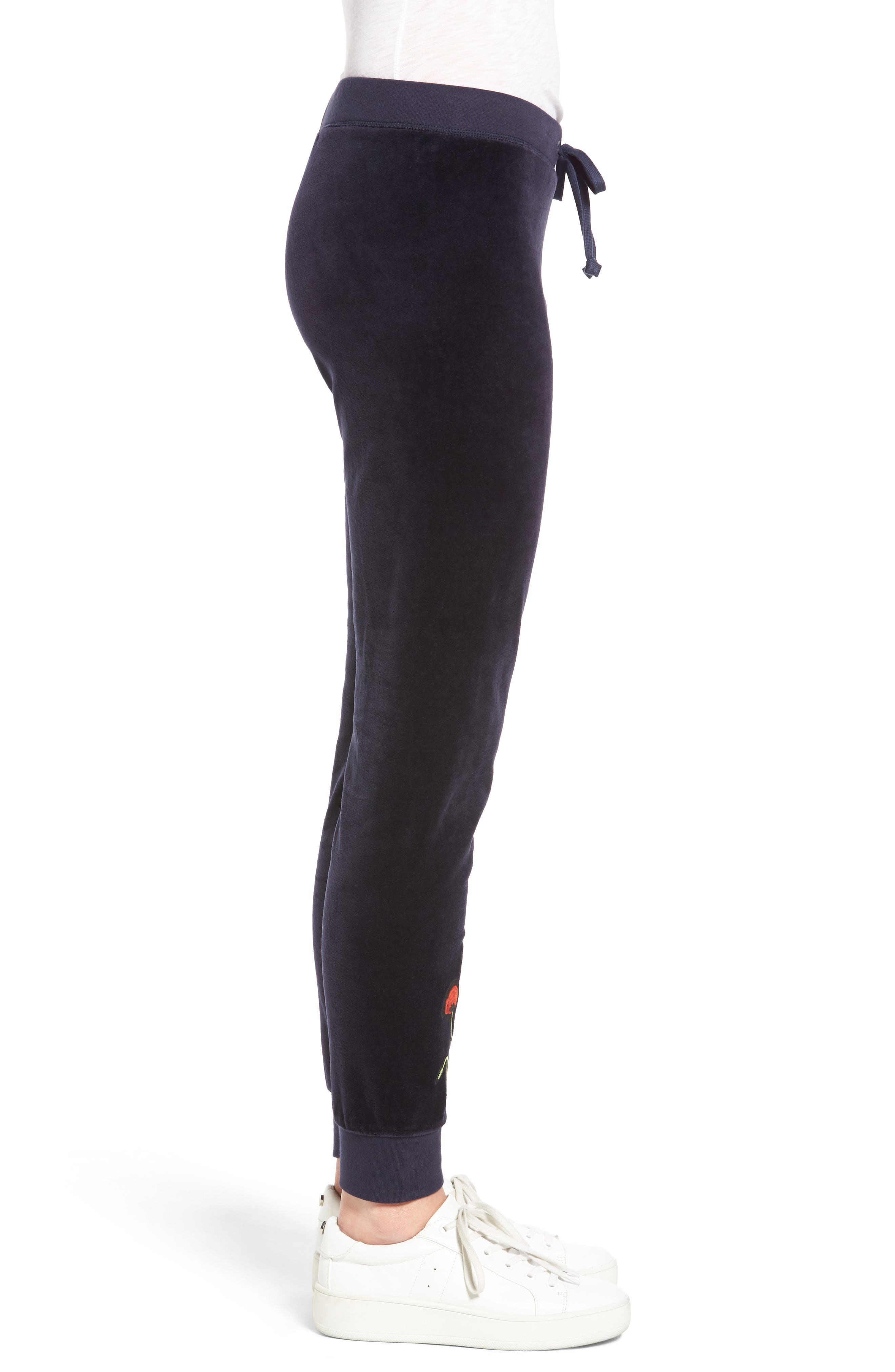 Alternate Image 3  - Juicy Couture Pretty Thing Zuma Velour Track Pants