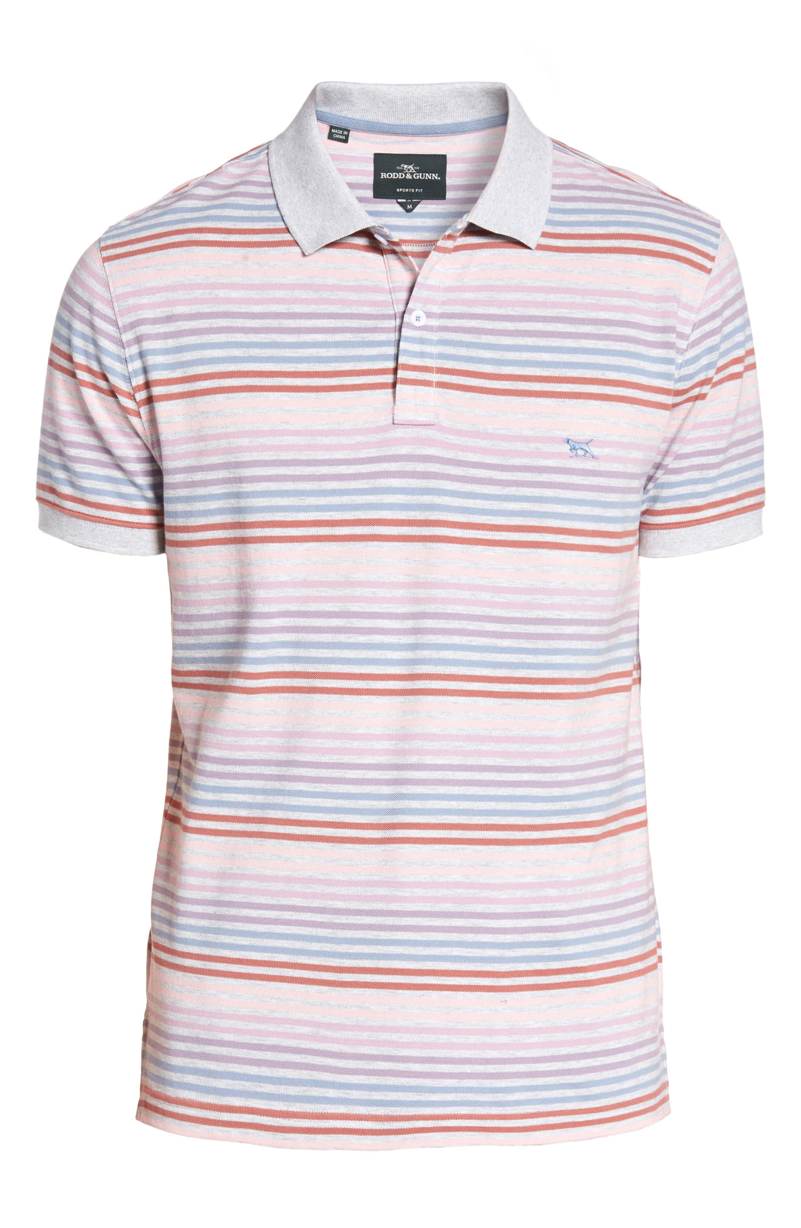 Alternate Image 6  - Rodd & Gunn Kingseat Sports Fit Cotton Polo