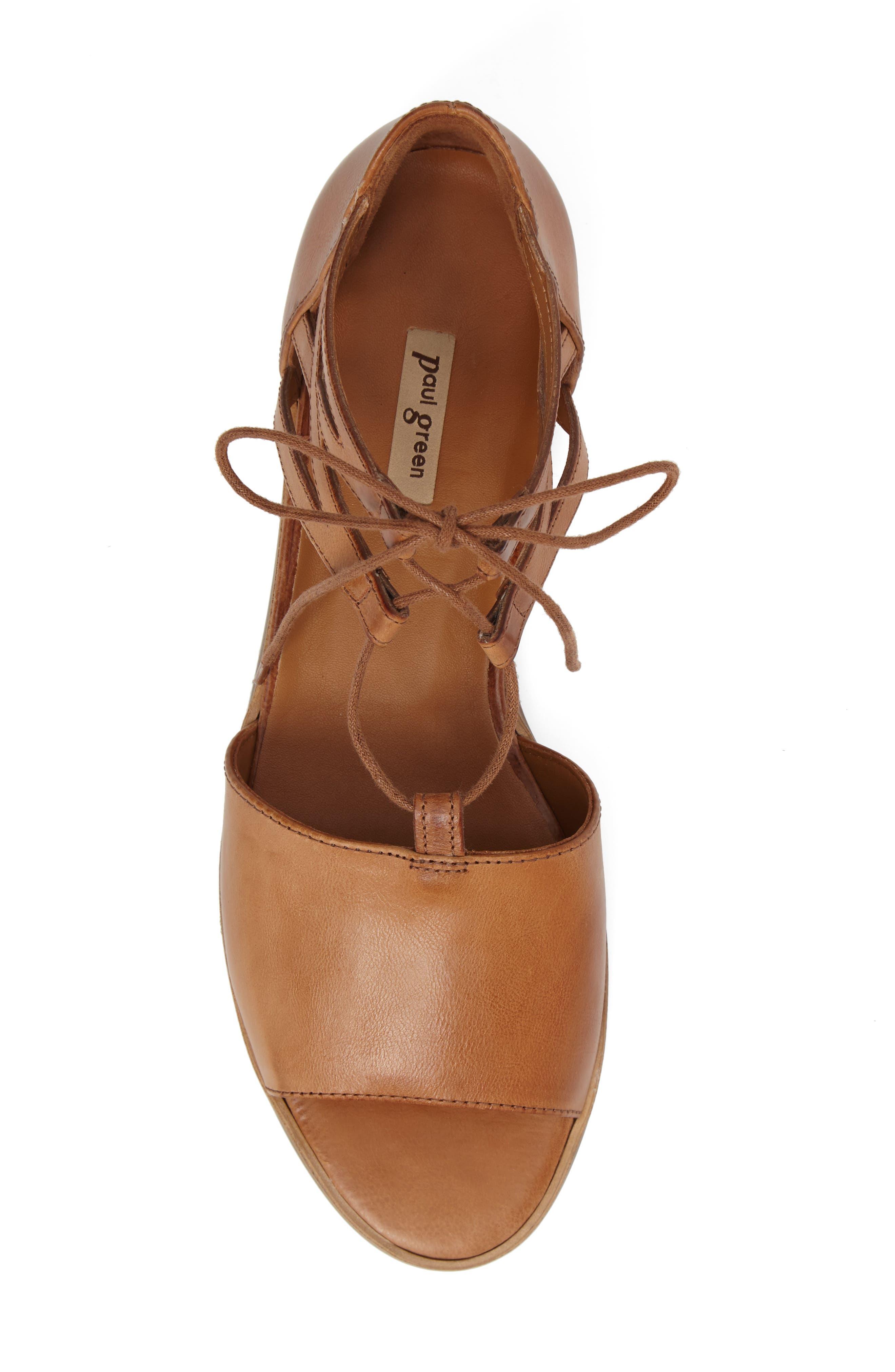 Alternate Image 5  - Paul Green Morea Lace-Up Sandal (Women)