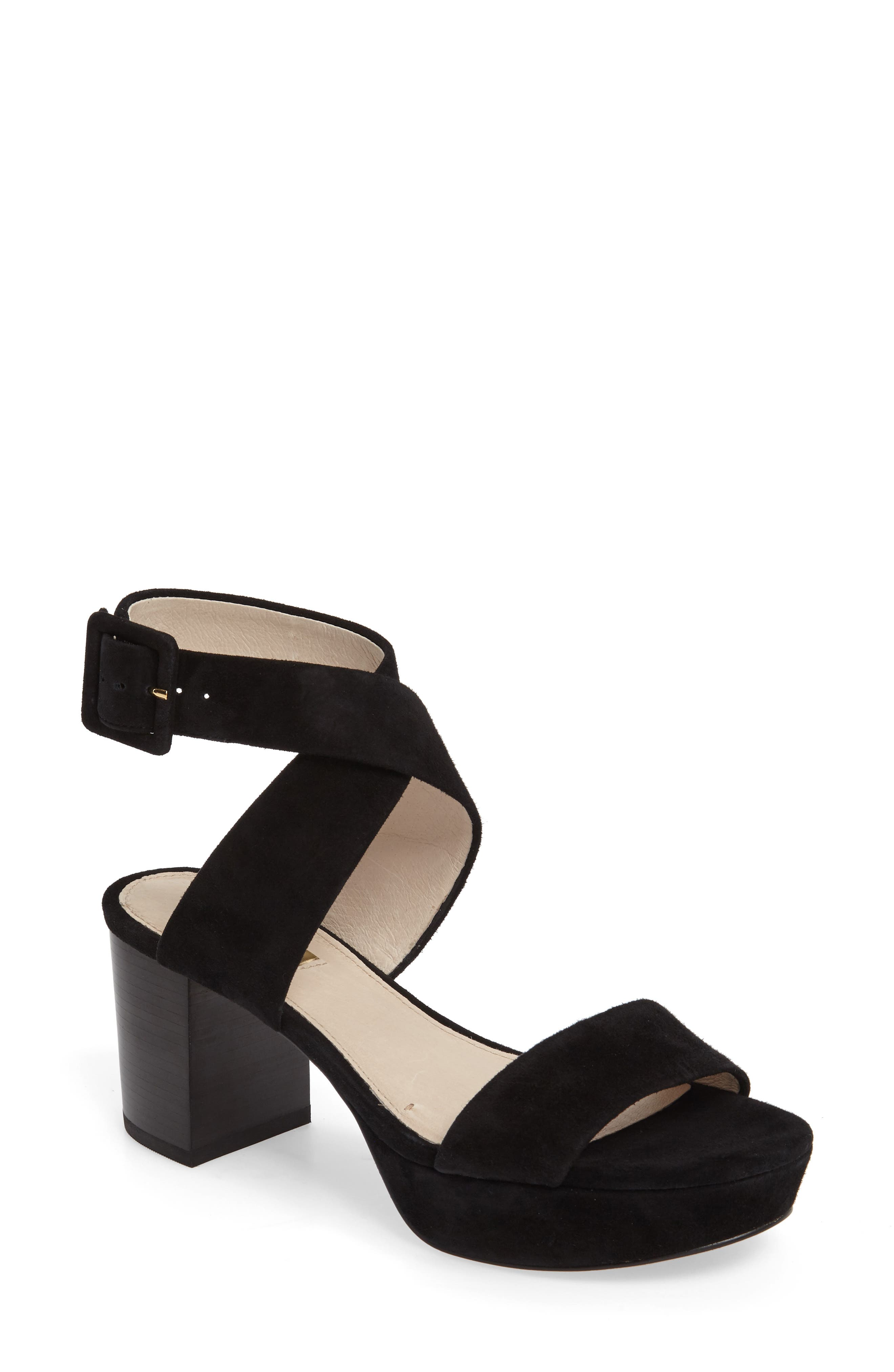 Alternate Image 1 Selected - Louise et Cie Harmony Block Heel Sandal (Women)