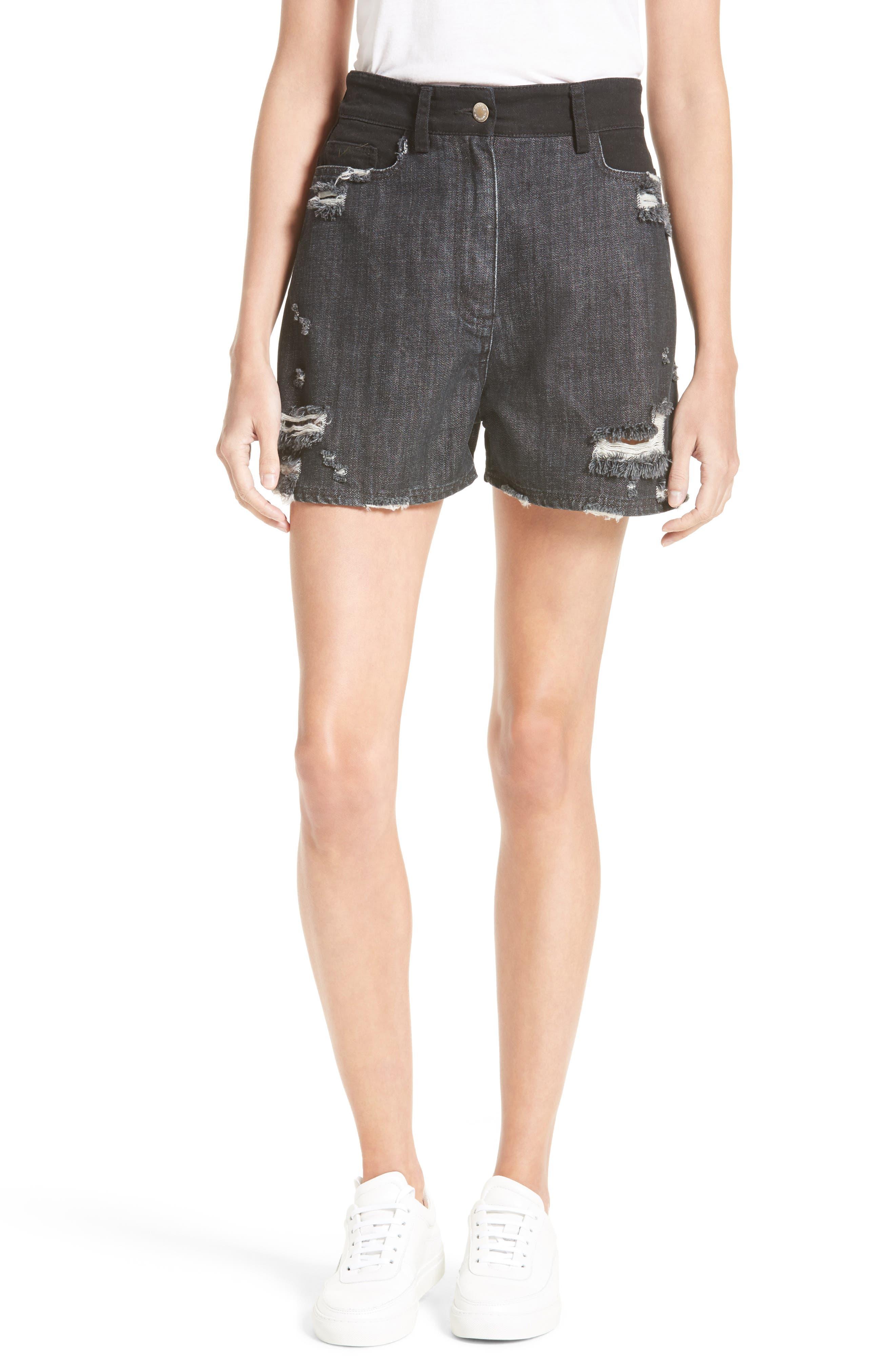 Alternate Image 1 Selected - Public School Thana Denim Shorts