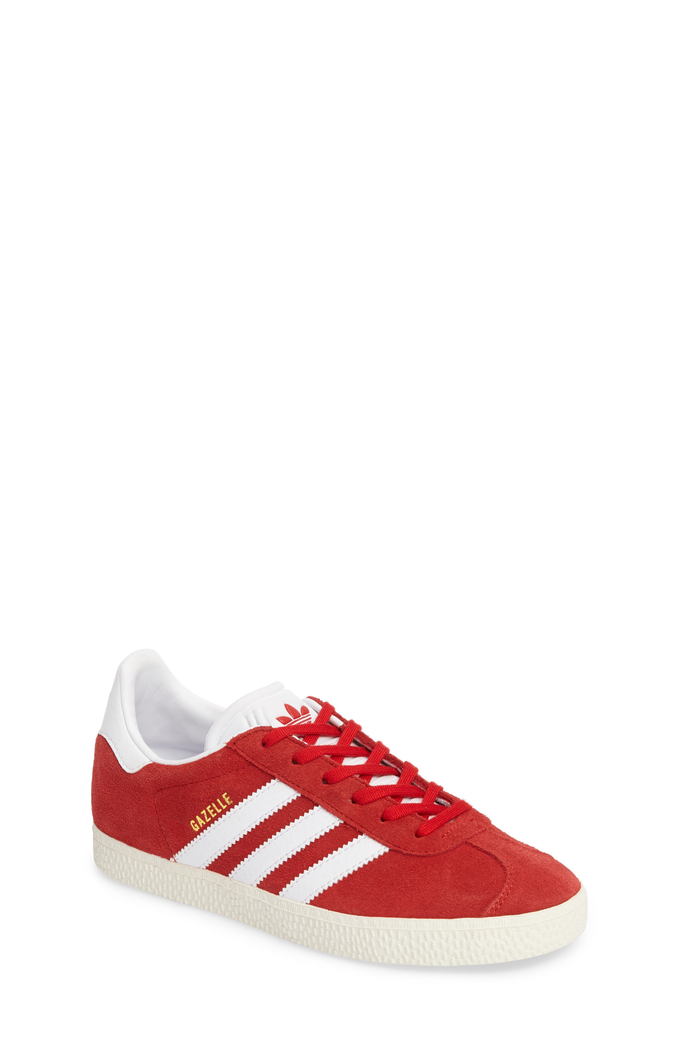 Alternate Image 1 Selected - adidas Gazelle Sneaker (Big Kid)