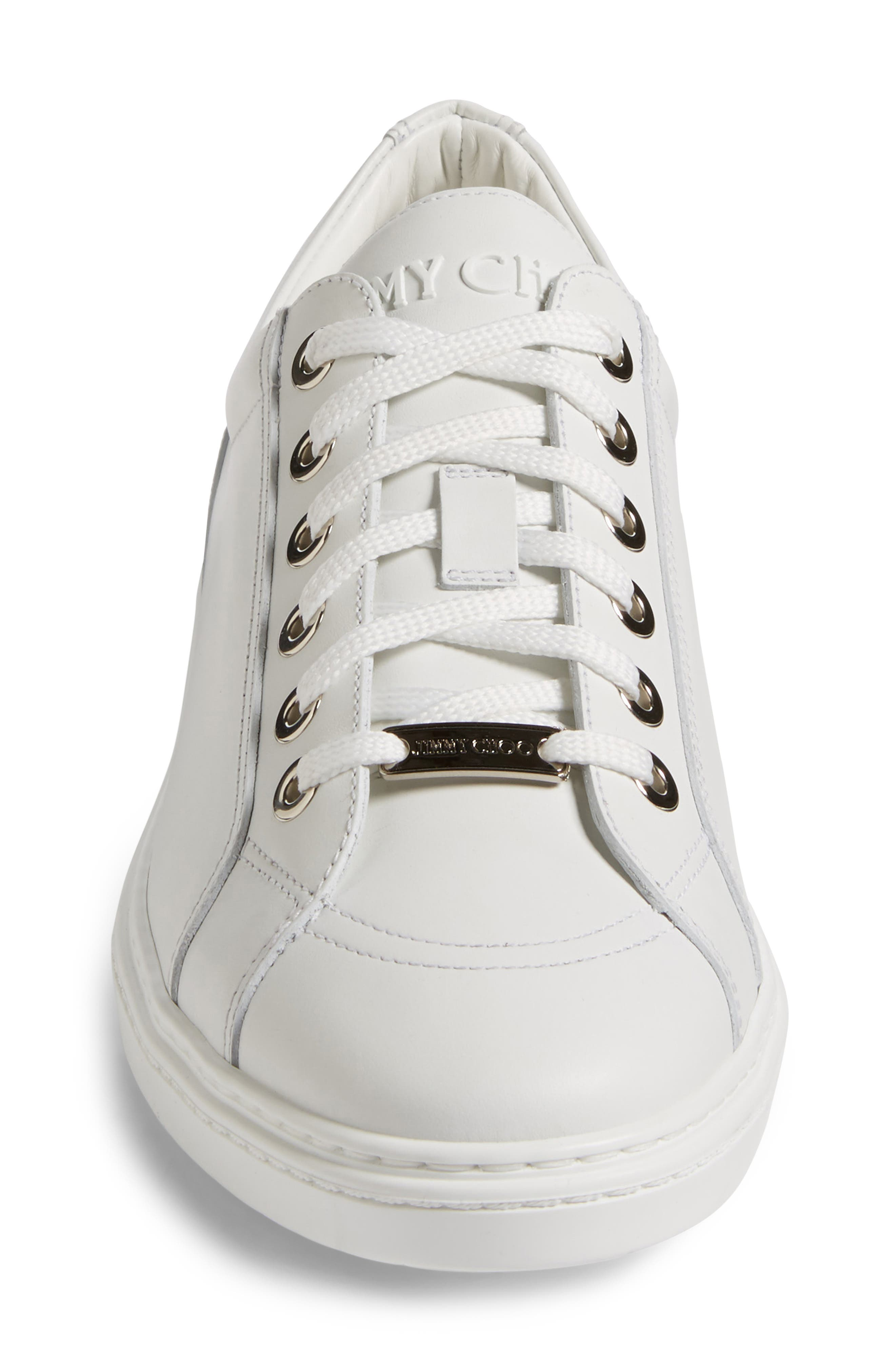 Cash Star Sneaker,                             Alternate thumbnail 4, color,                             Ultra White