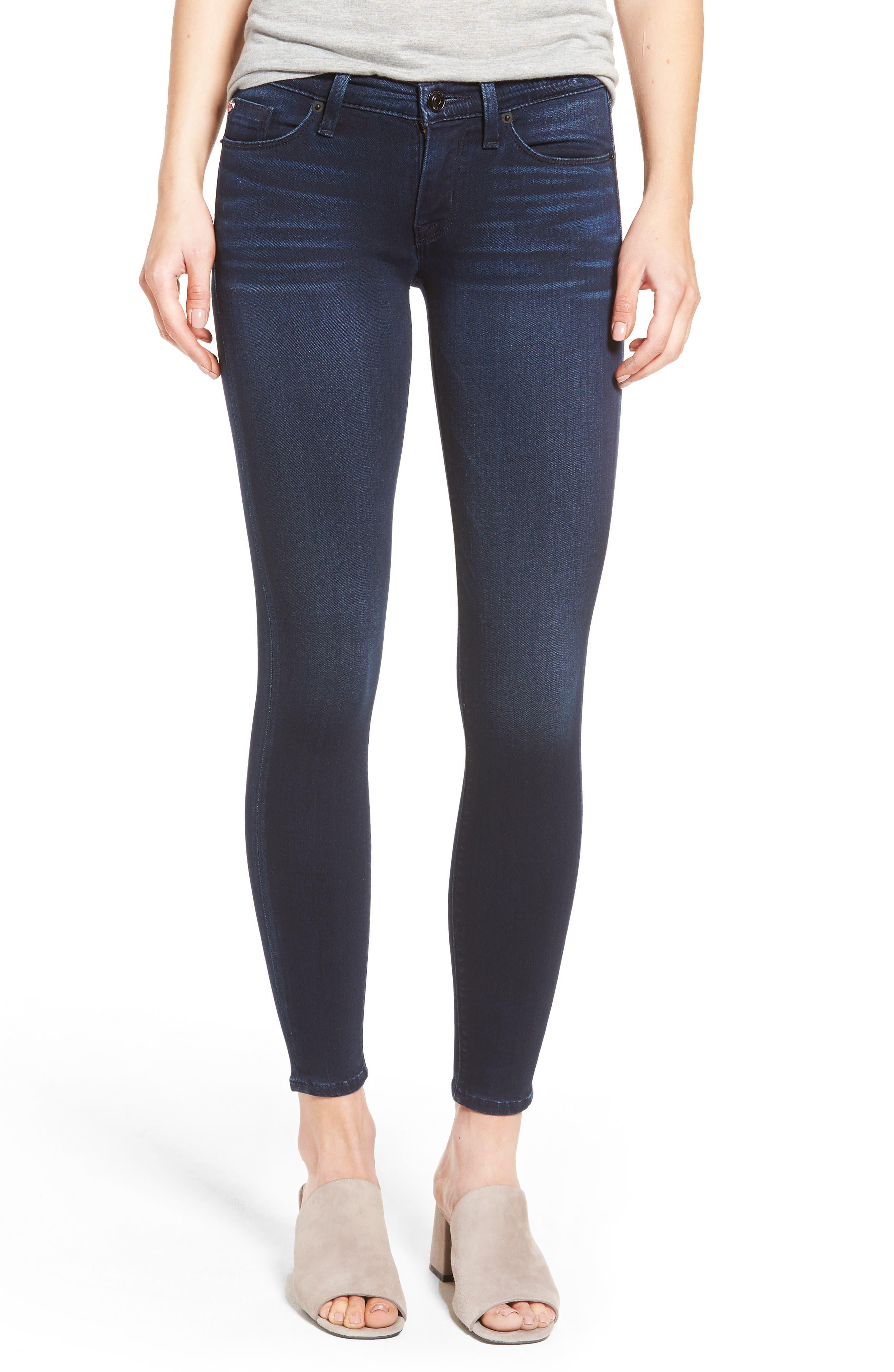 HUDSON JEANS Krista Super Skinny Crop Jeans