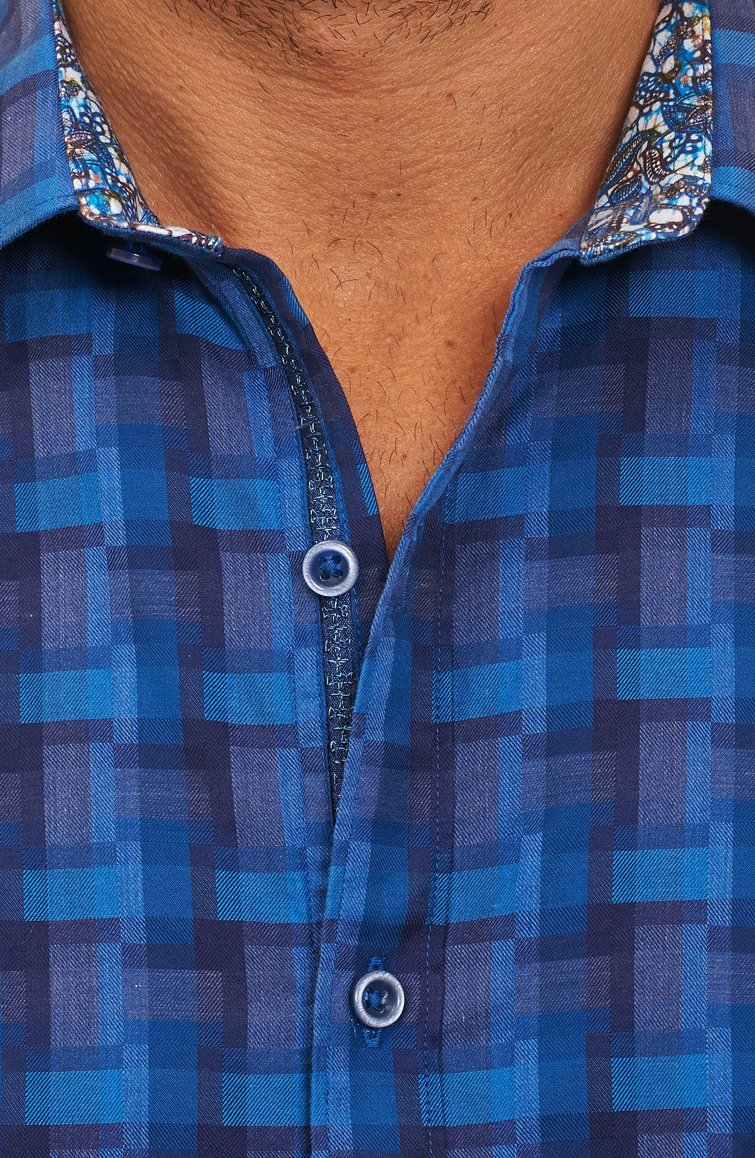 Alternate Image 3  - Robert Graham Burman Classic Fit Sport Shirt