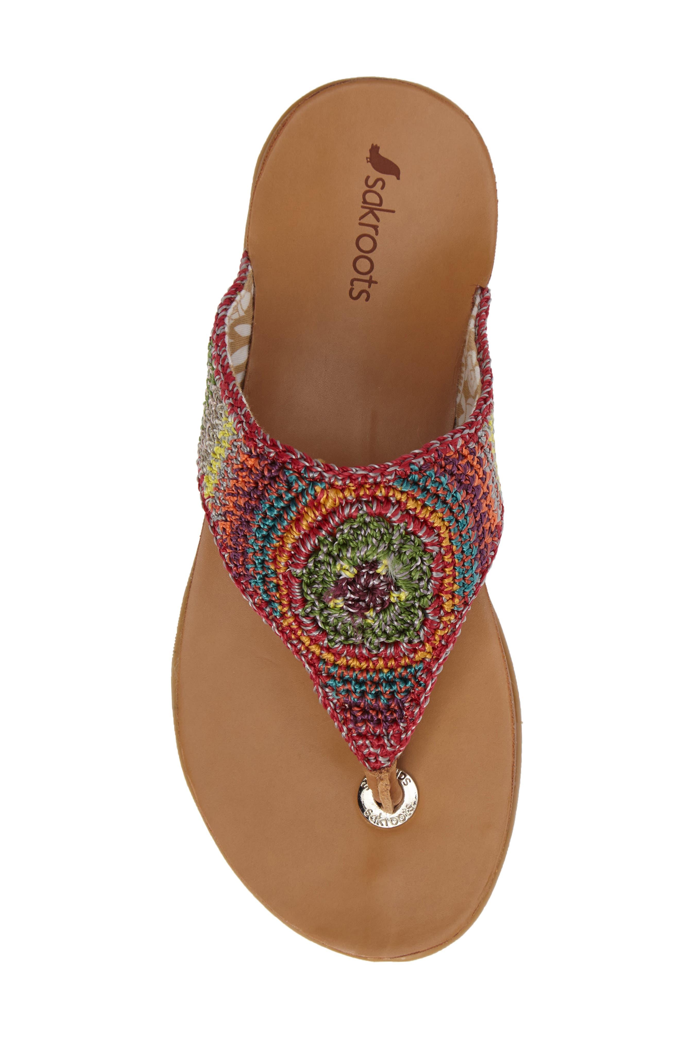 Alternate Image 5  - Sakroots Sarria Flip Flop (Women)