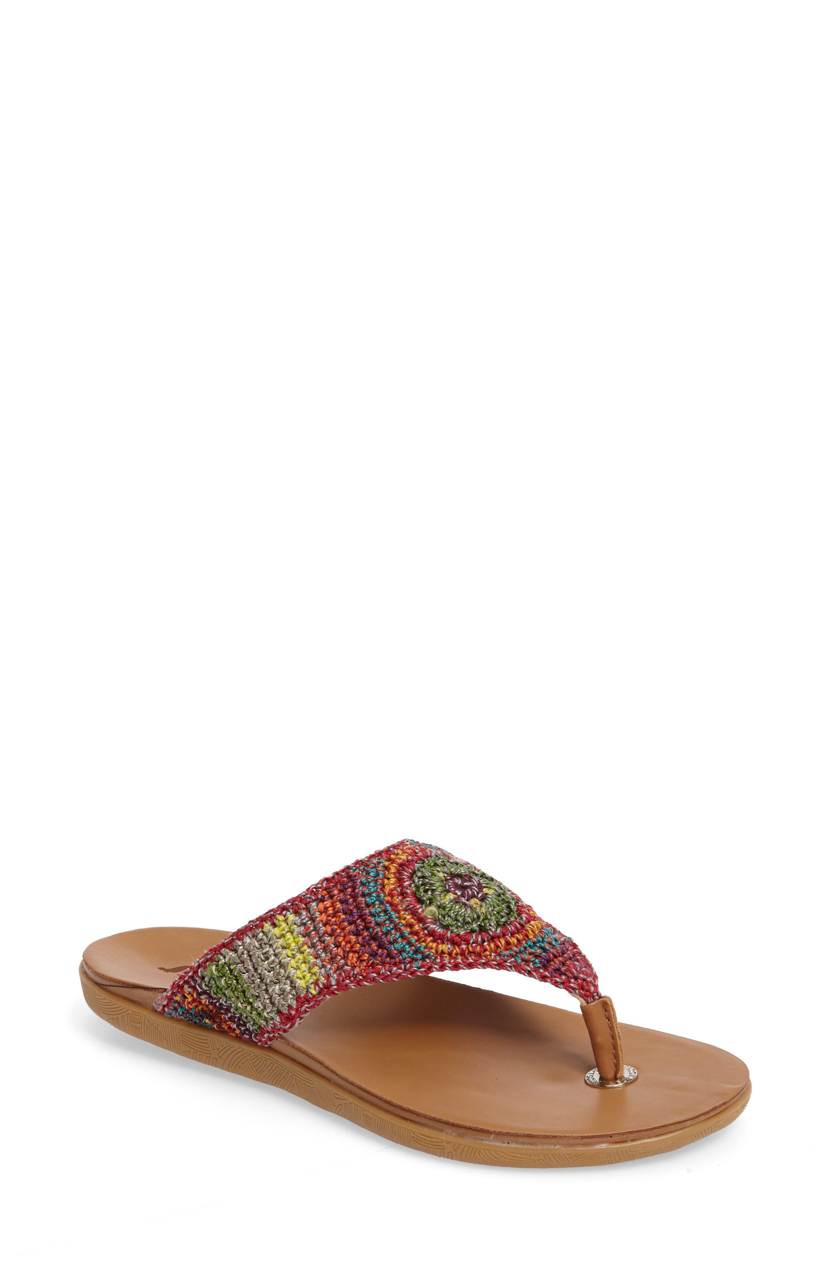 Main Image - Sakroots Sarria Flip Flop (Women)