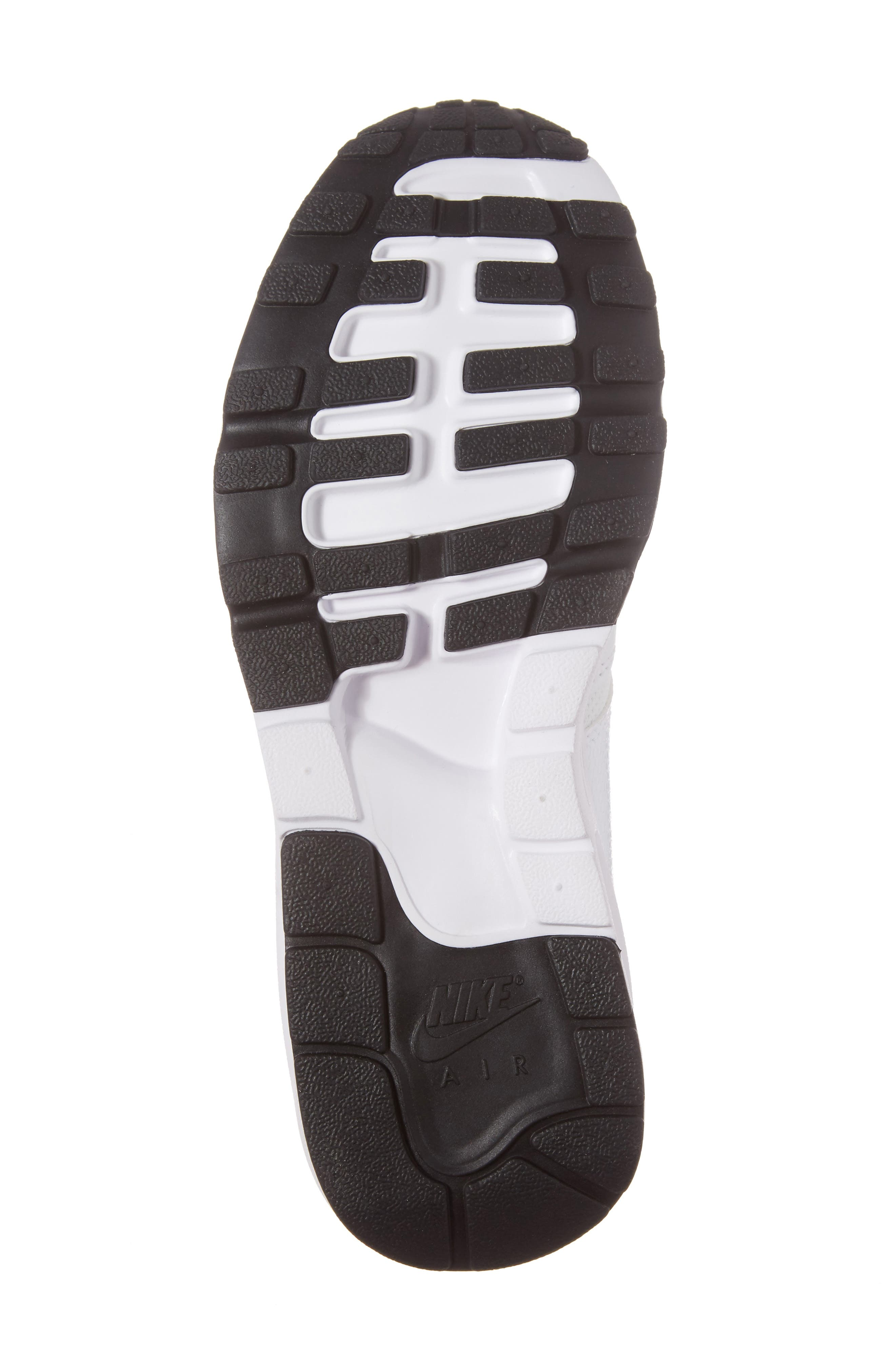 Air Max 1 Ultra 2.0 Running Shoe,                             Alternate thumbnail 6, color,                             White/ Platinum/ Black/ White