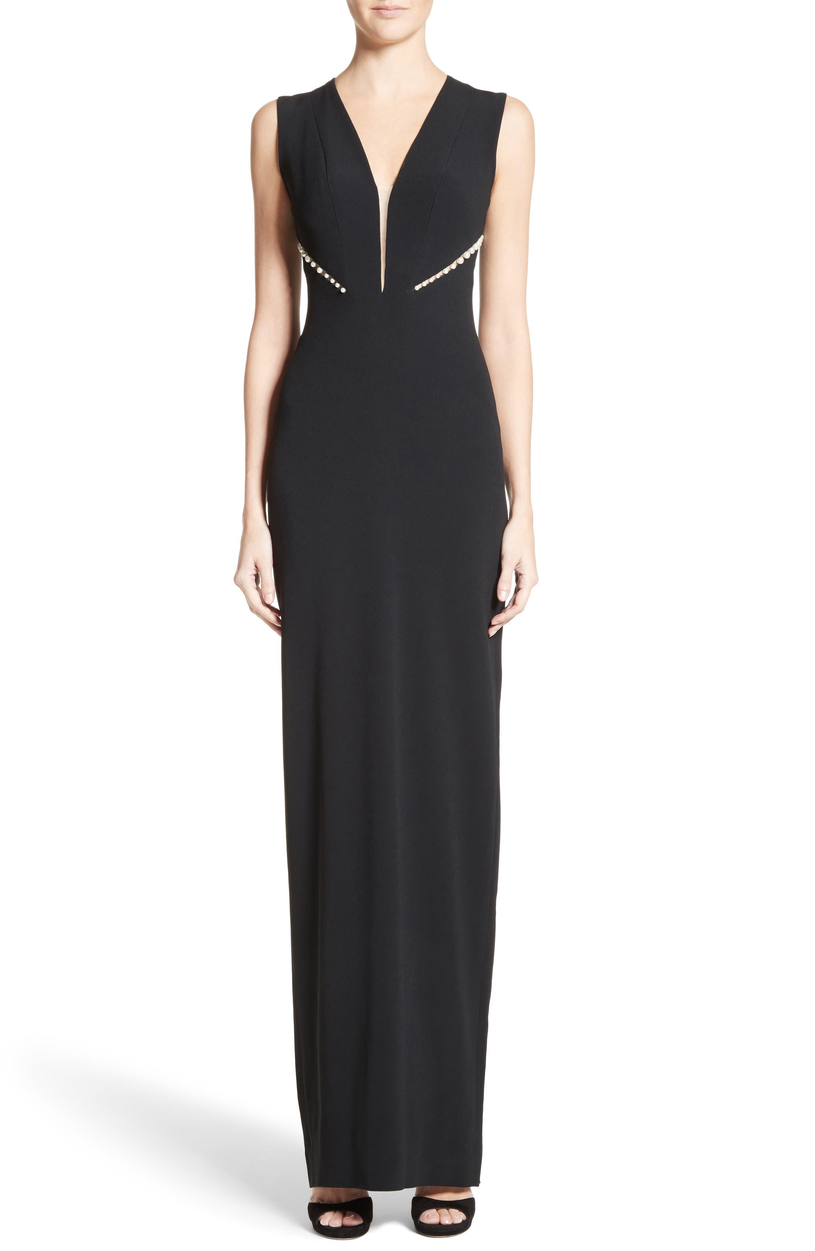 Pamella Roland Embellished Gown