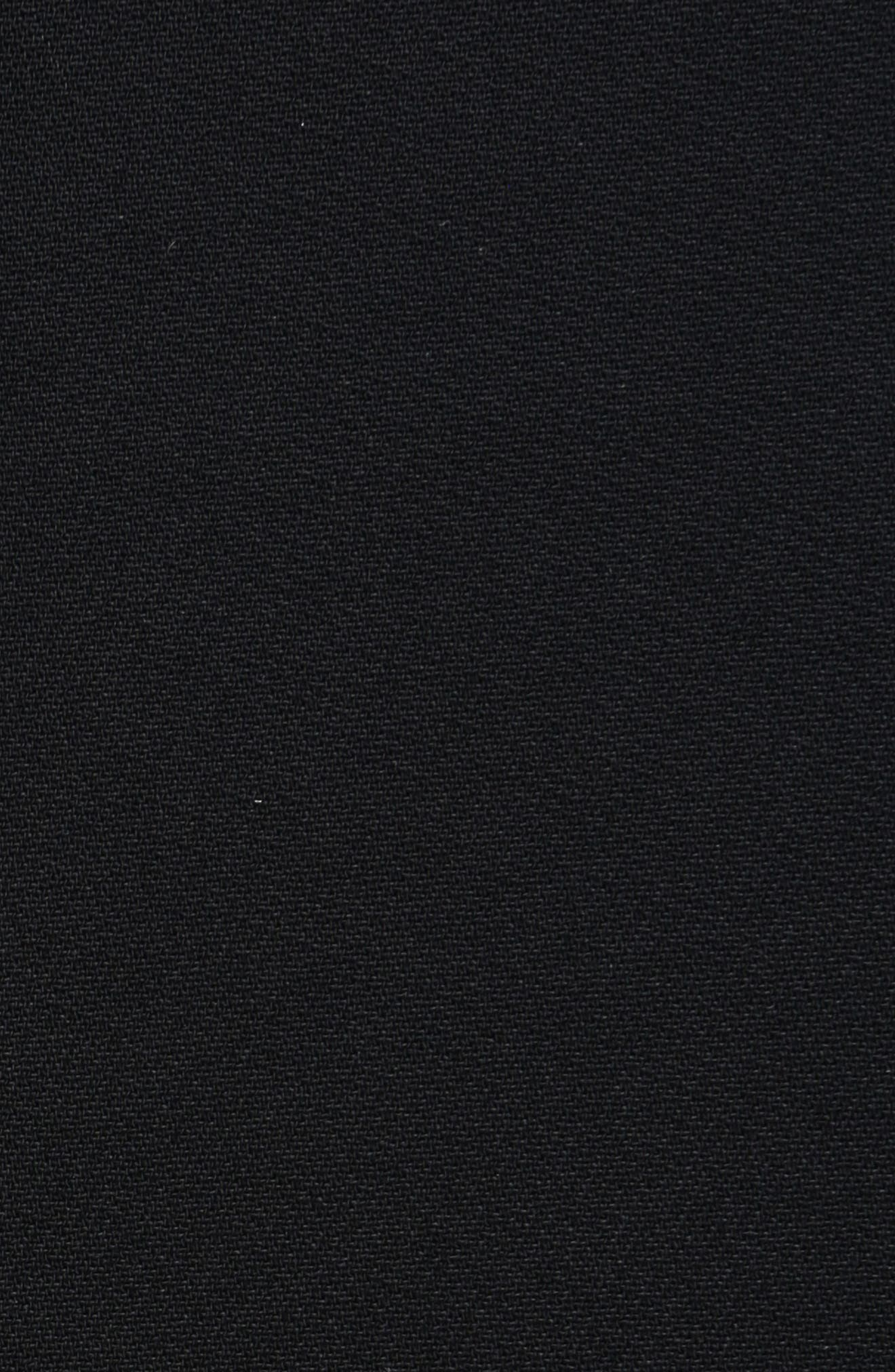 Alternate Image 3  - Givenchy Lace Trim Stretch Cady Asymmetrical Dress