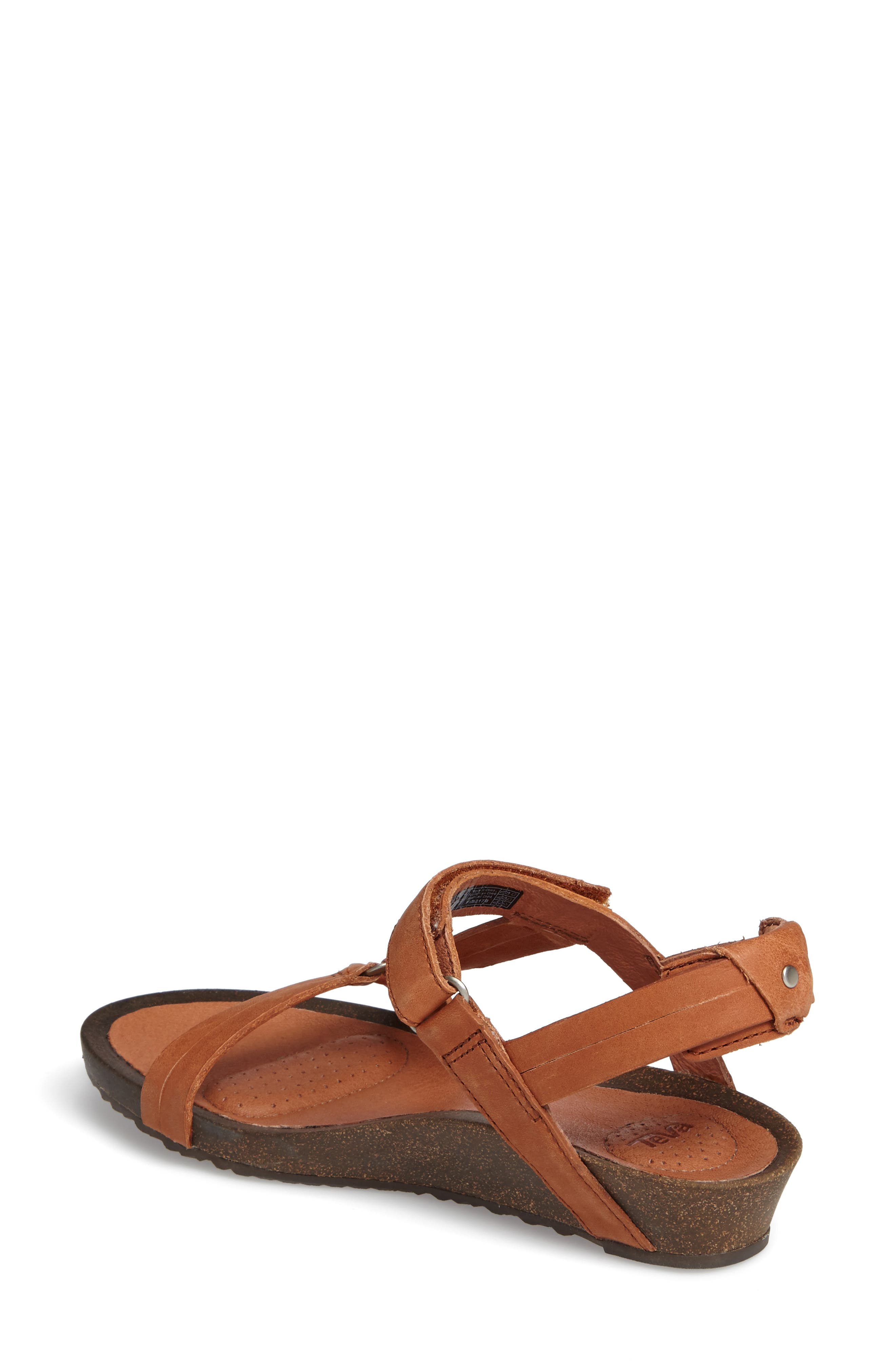 Ysidro Universal Sandal,                             Alternate thumbnail 2, color,                             Cognac Leather