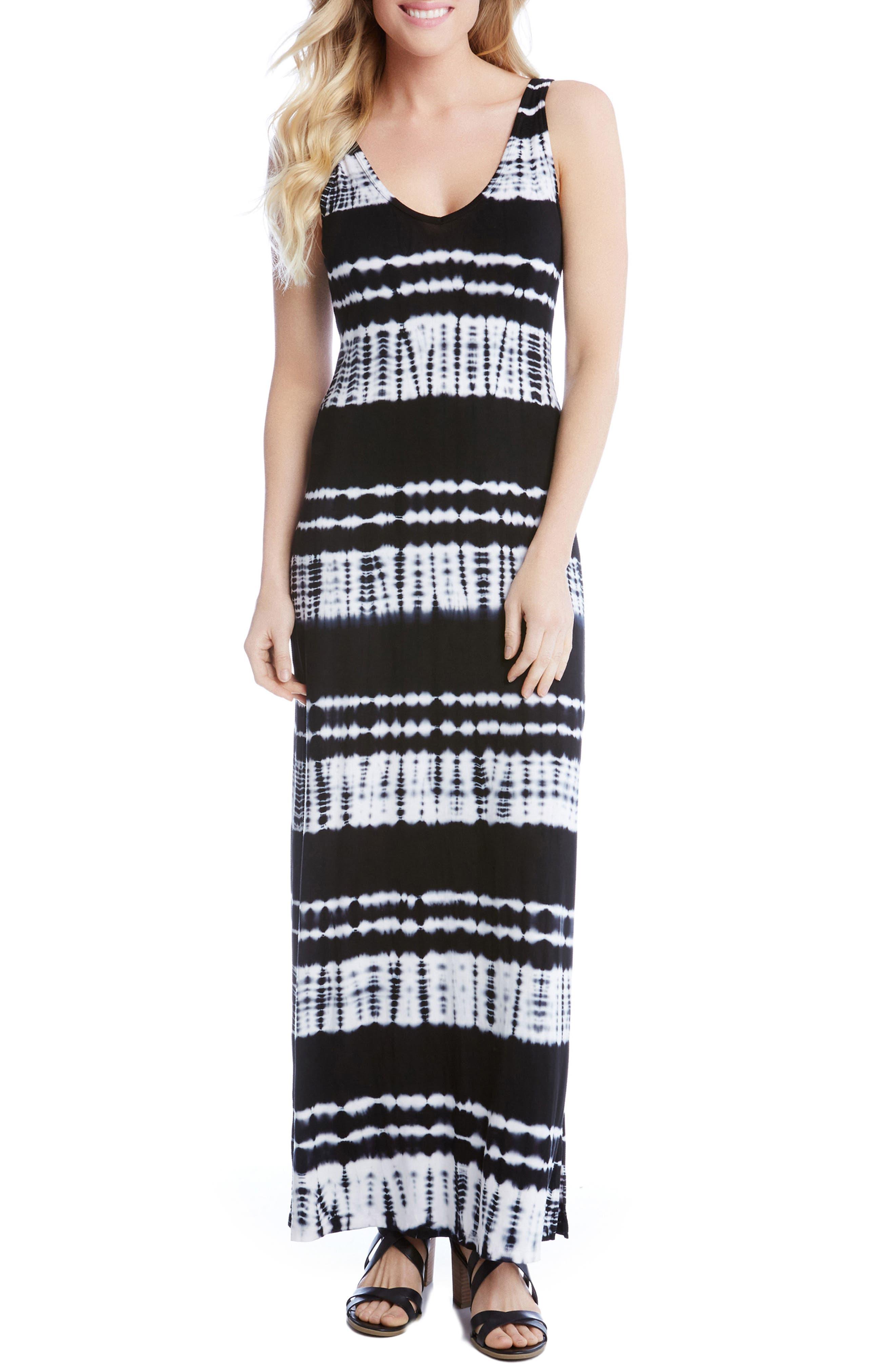 Main Image - Karen Kane Alana Tie Dye Maxi Dress