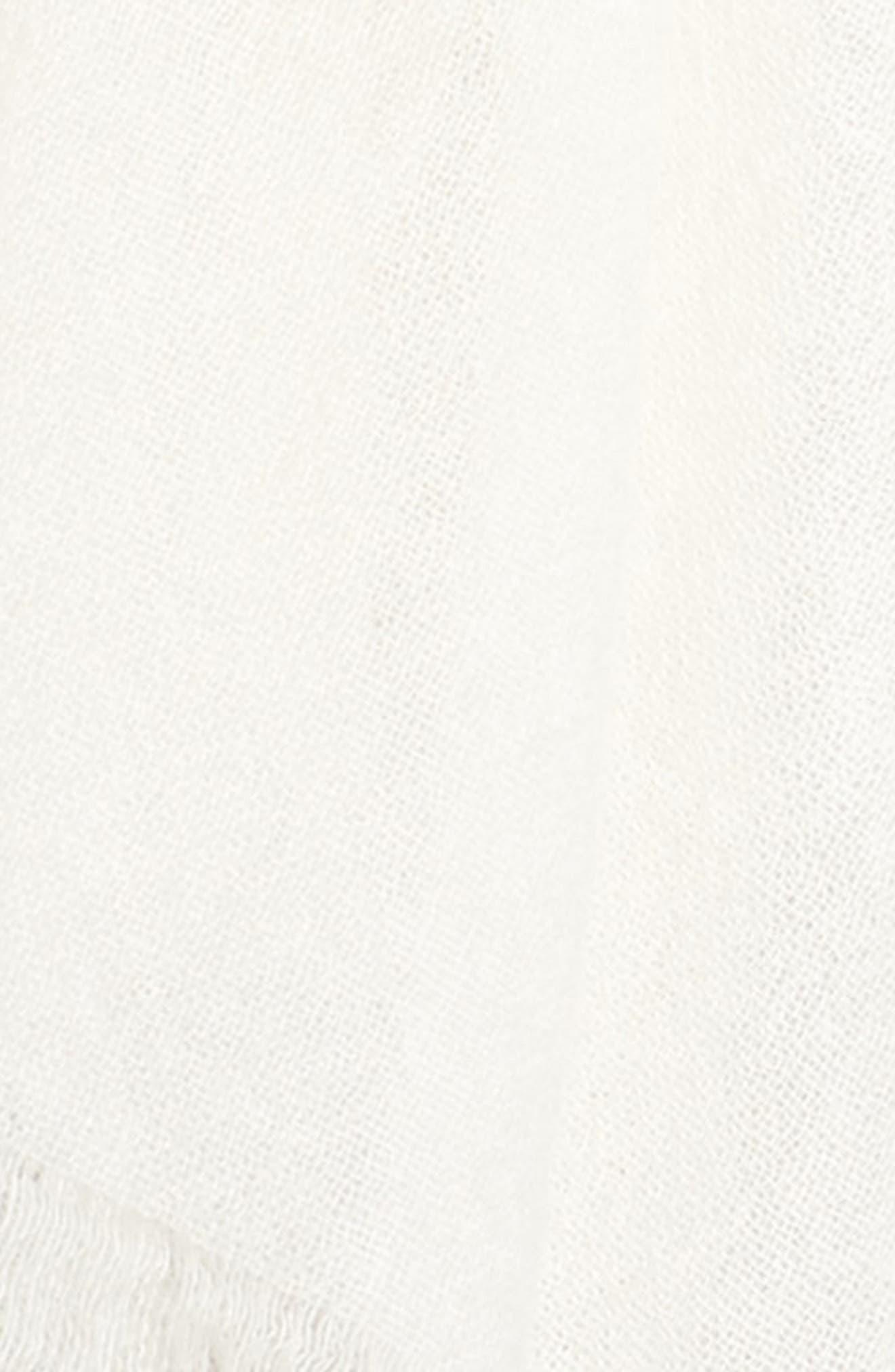 Alternate Image 3  - Caslon® Heathered Cashmere Gauze Scarf