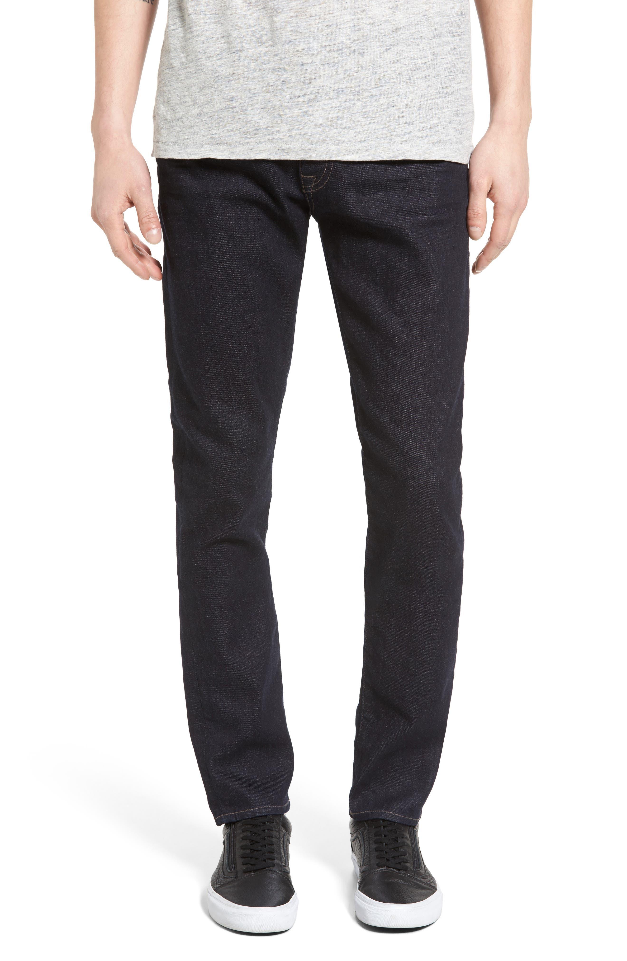 Alternate Image 1 Selected - Mavi Jeans James Skinny Fit Jeans (Midnight Williamsburg)