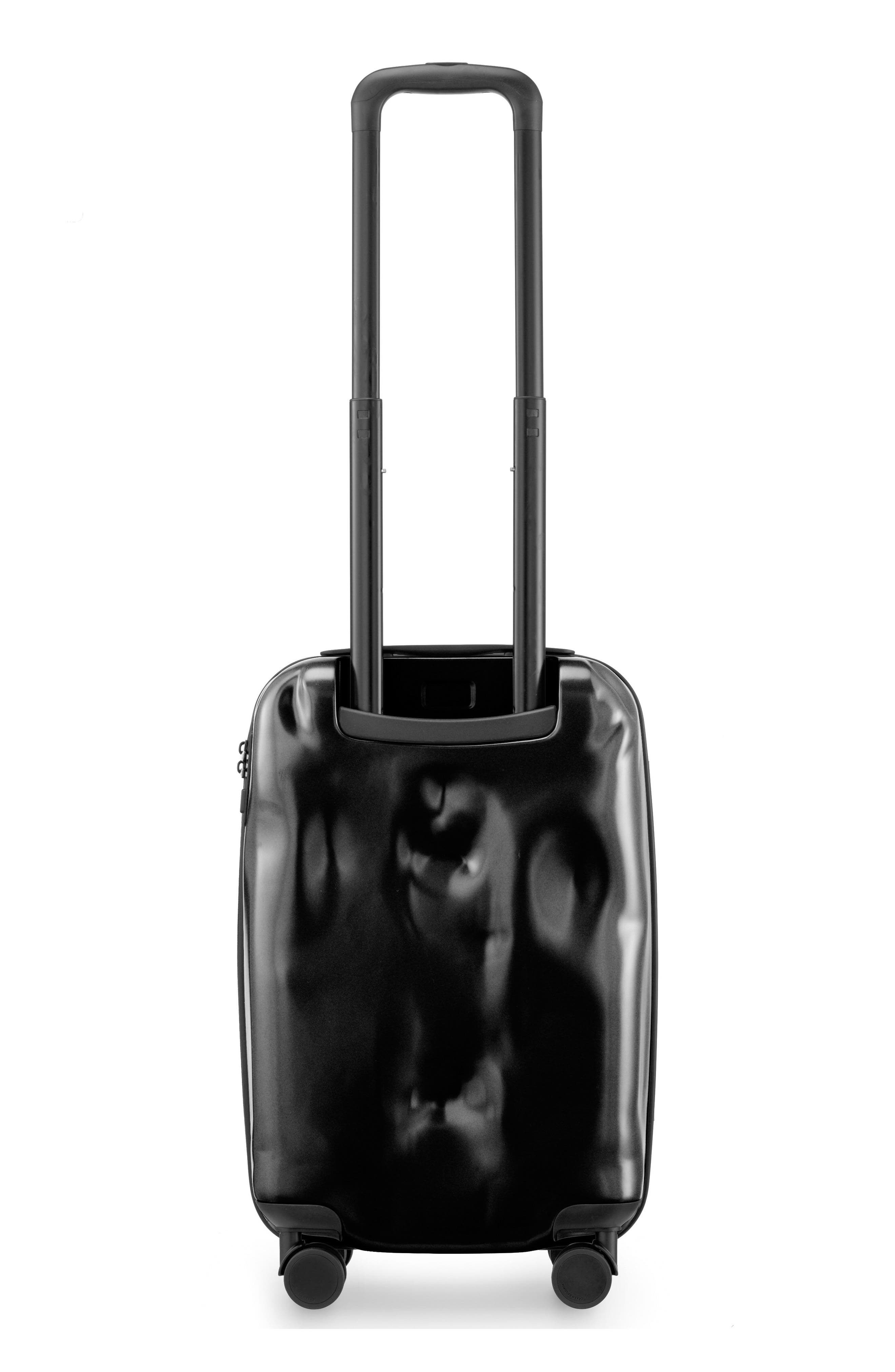 Small Pioneer Cabin Trolley Case,                             Alternate thumbnail 2, color,                             Super Black