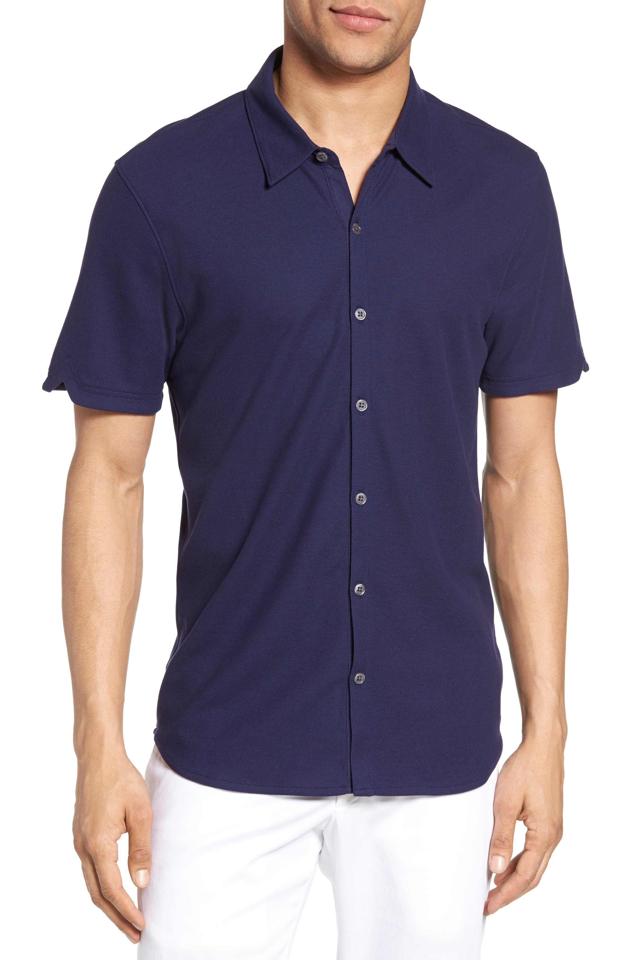 Alternate Image 1 Selected - Zachary Prell Palmetto Pima Cotton Shirt