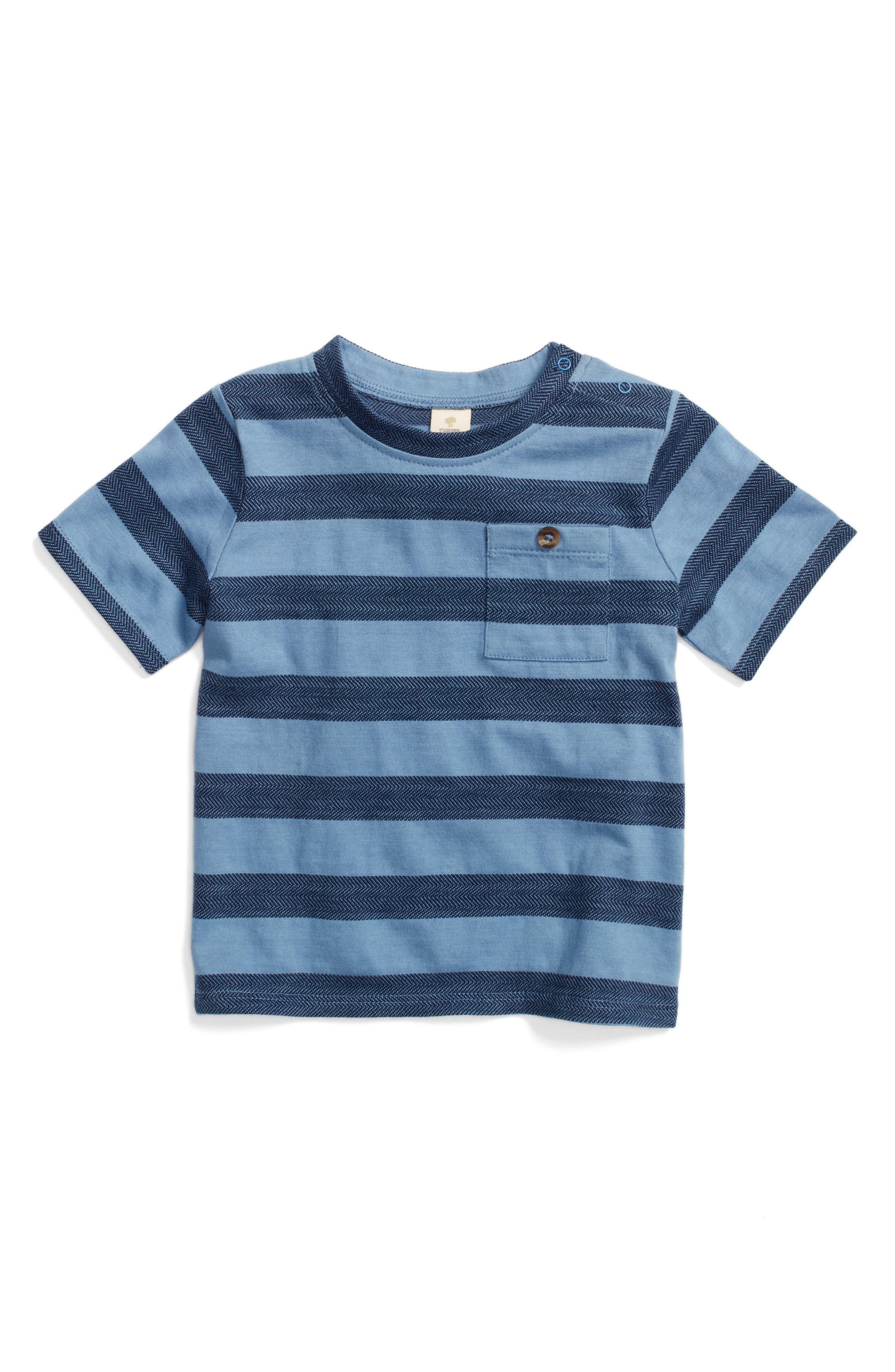 Alternate Image 1 Selected - Tucker + Tate Thomas Stripe T-Shirt (Baby Boys)