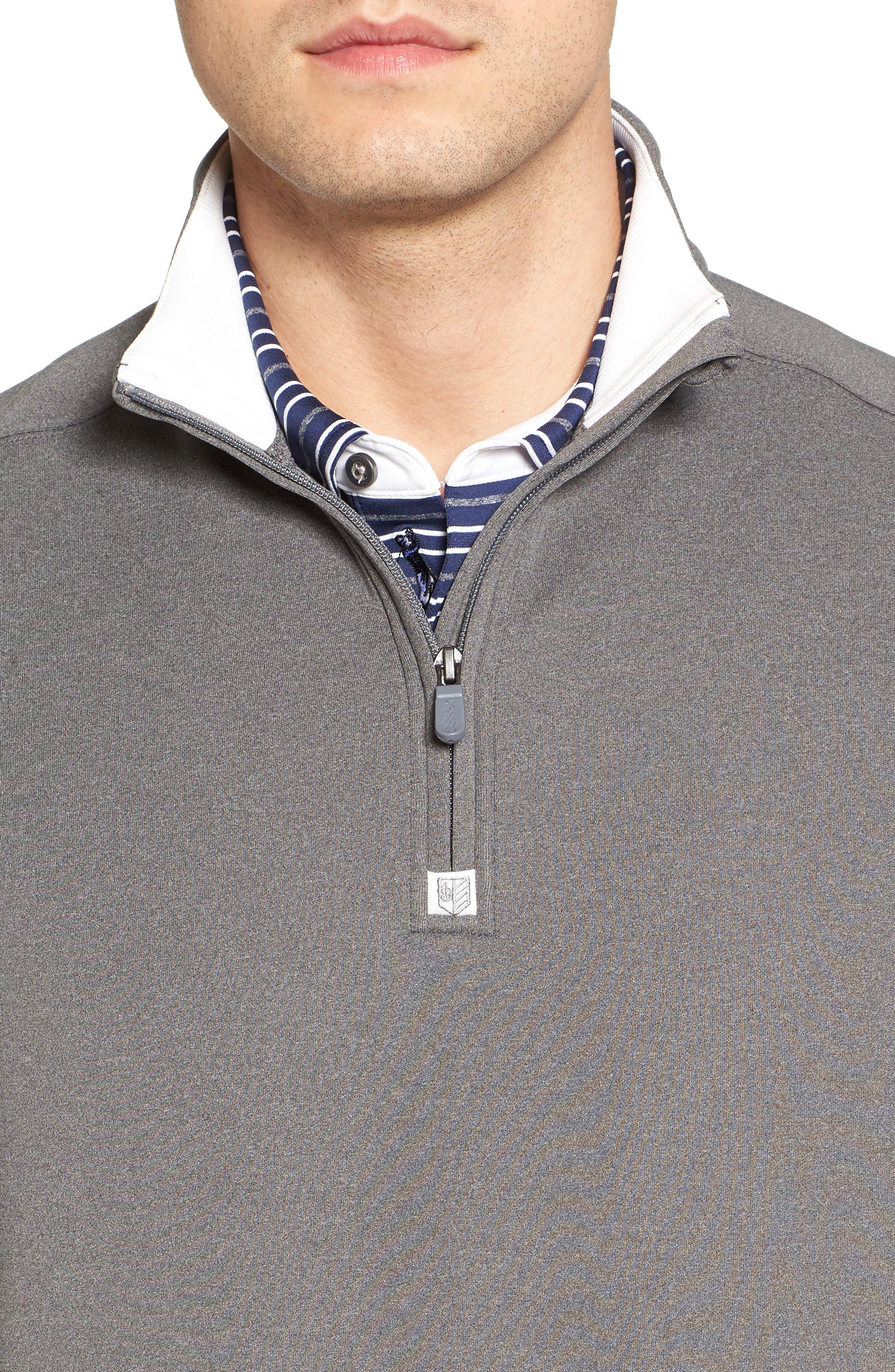 Alternate Image 4  - Bobby Jones Rule 18 Tech Quarter Zip Vest